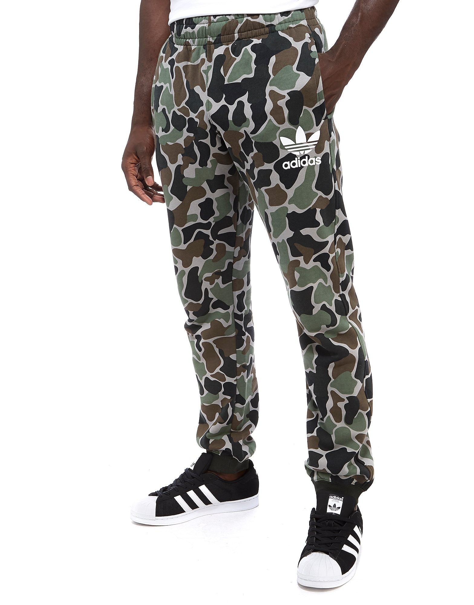 adidas Originals Camo Joggers - Camouflage Green/Grey/Black/Brown, Camouflage Green/Grey/Black/Brown