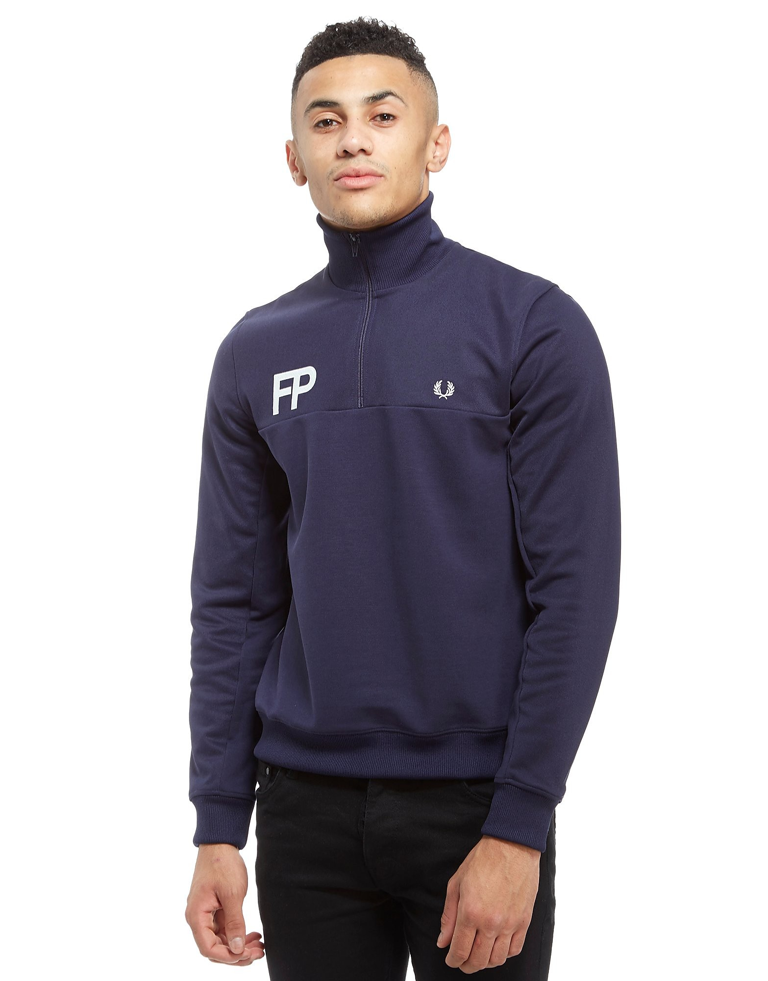 Fred Perry Logo 1/2 Zip Track Top