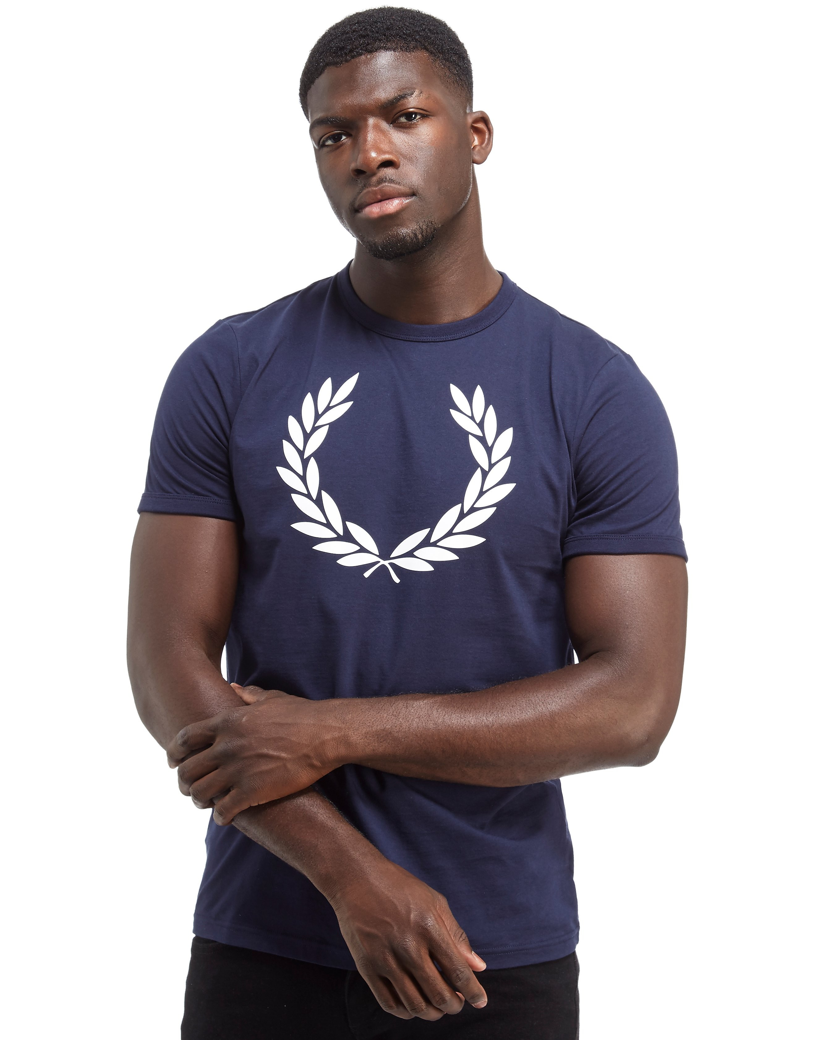 Fred Perry Laurel Wreath Ringer Short Sleeve T-Shirt