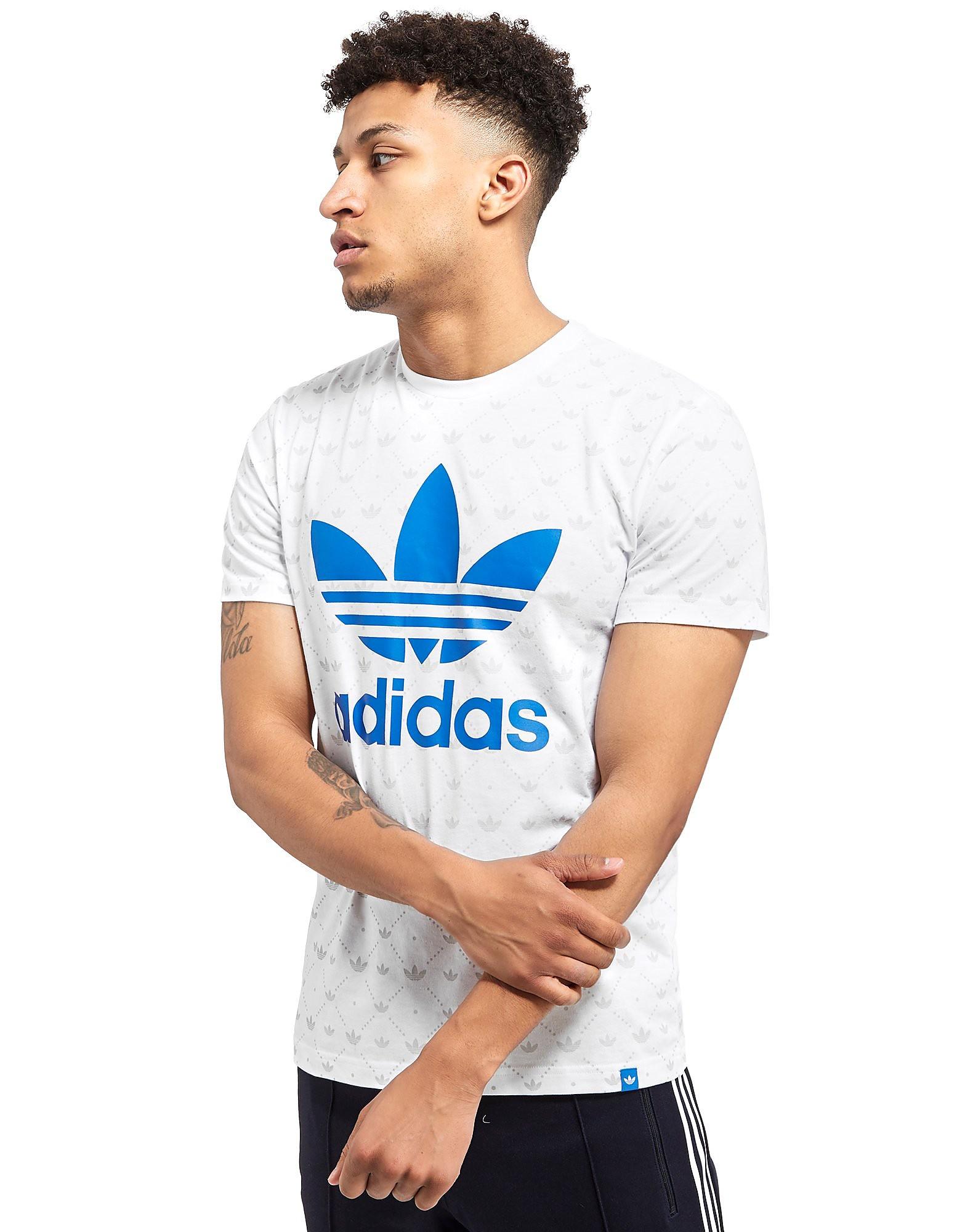 adidas Originals Trefoil All-Over-Print T-Shirt