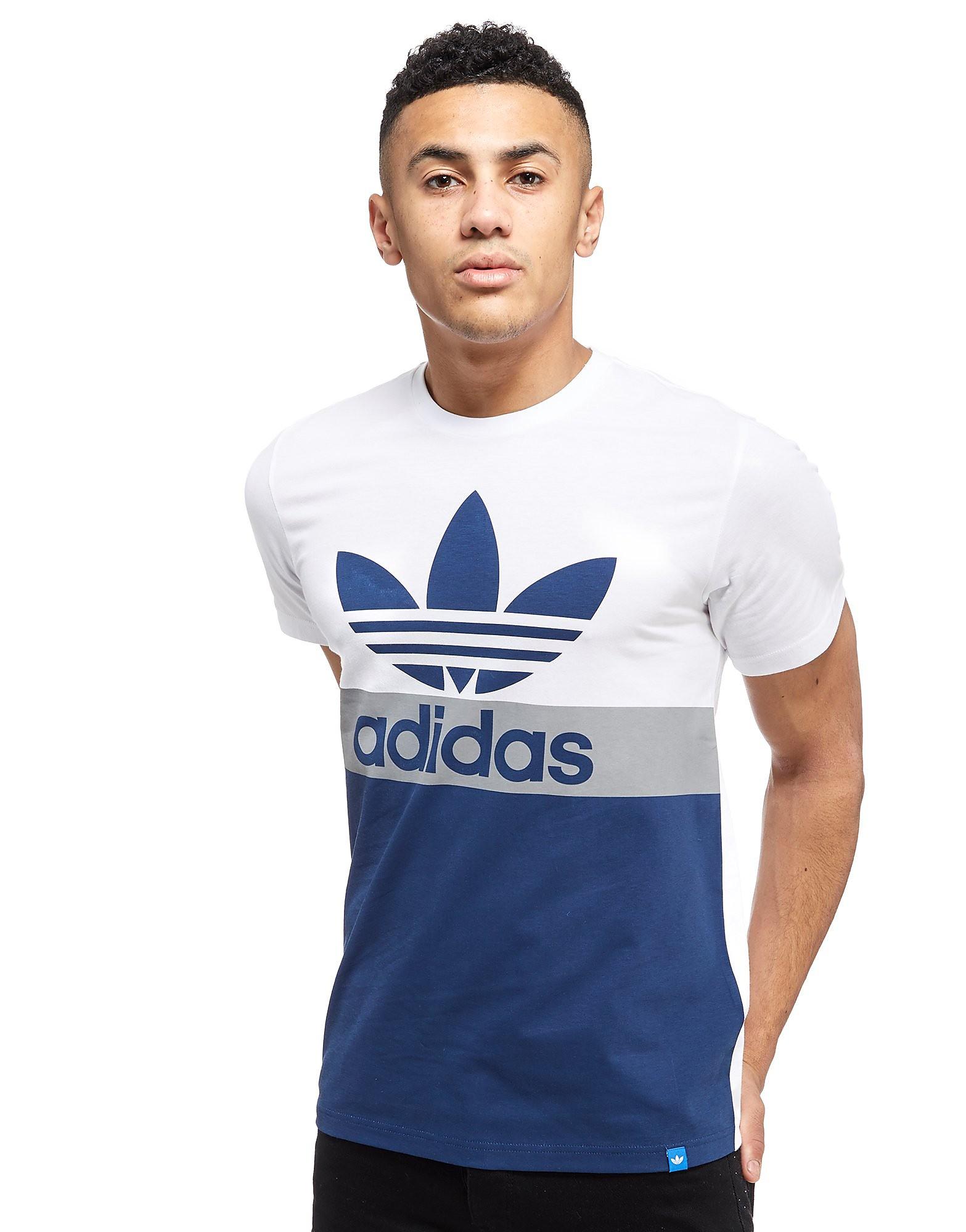 adidas Originals Trefoil Colour Block T-Shirt