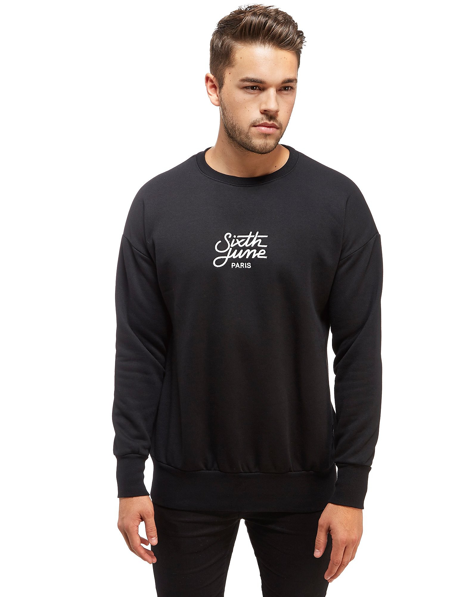 Sixth June Sweatshirt Central Logo Homme