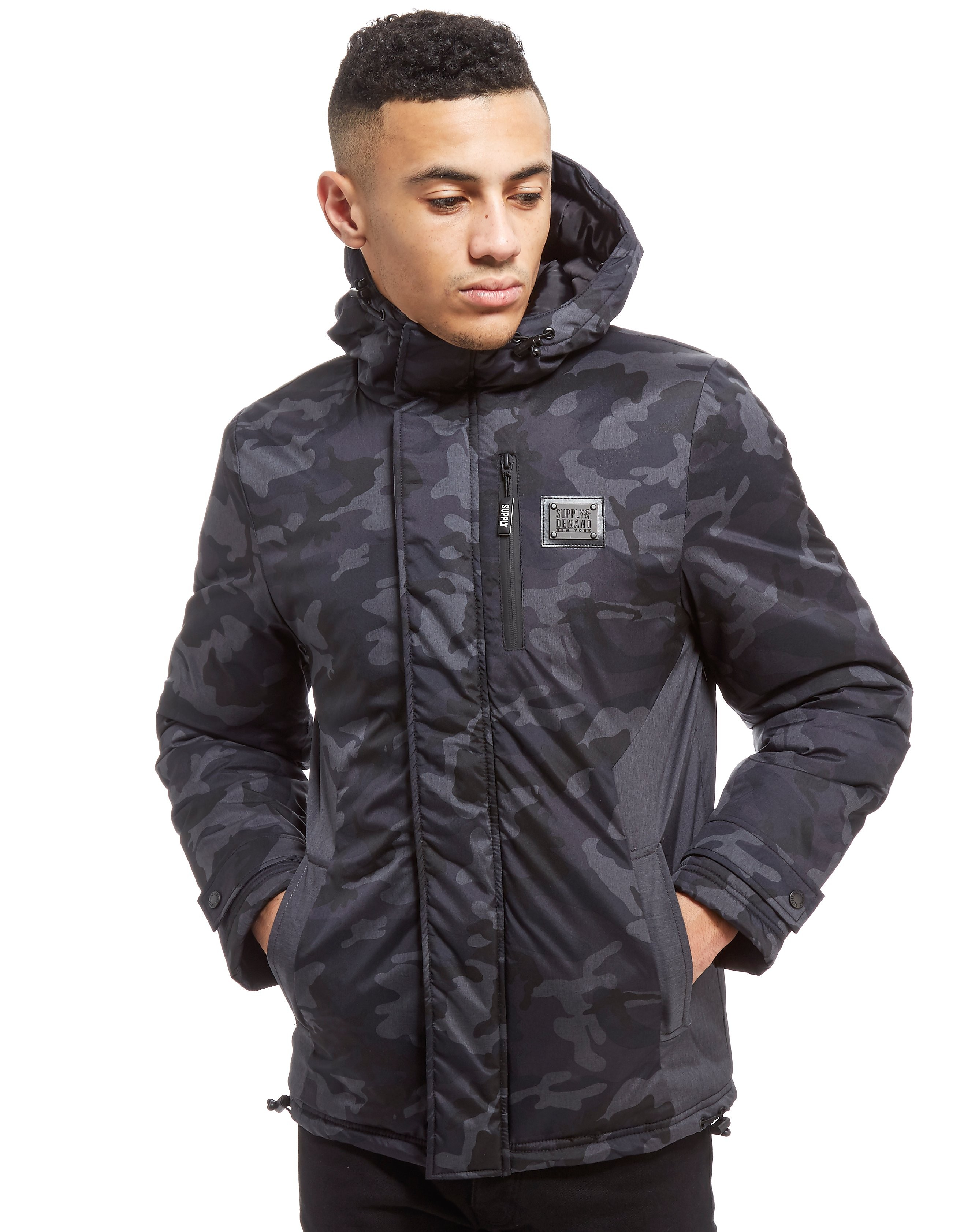 Supply & Demand Elmau Jacket - Zwart - Heren