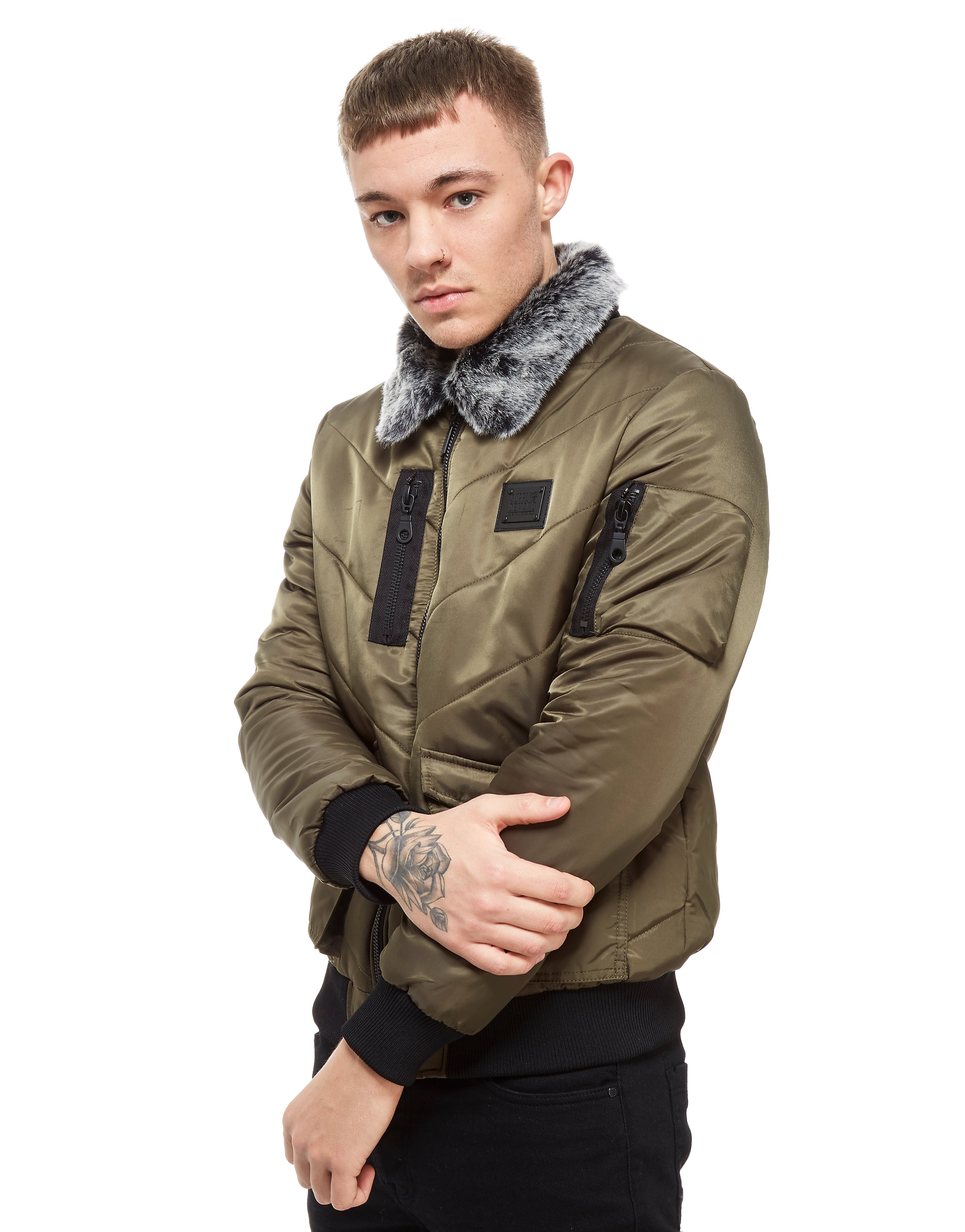Supply & Demand Aviator Flight Jacket - Only at JD, Khaki