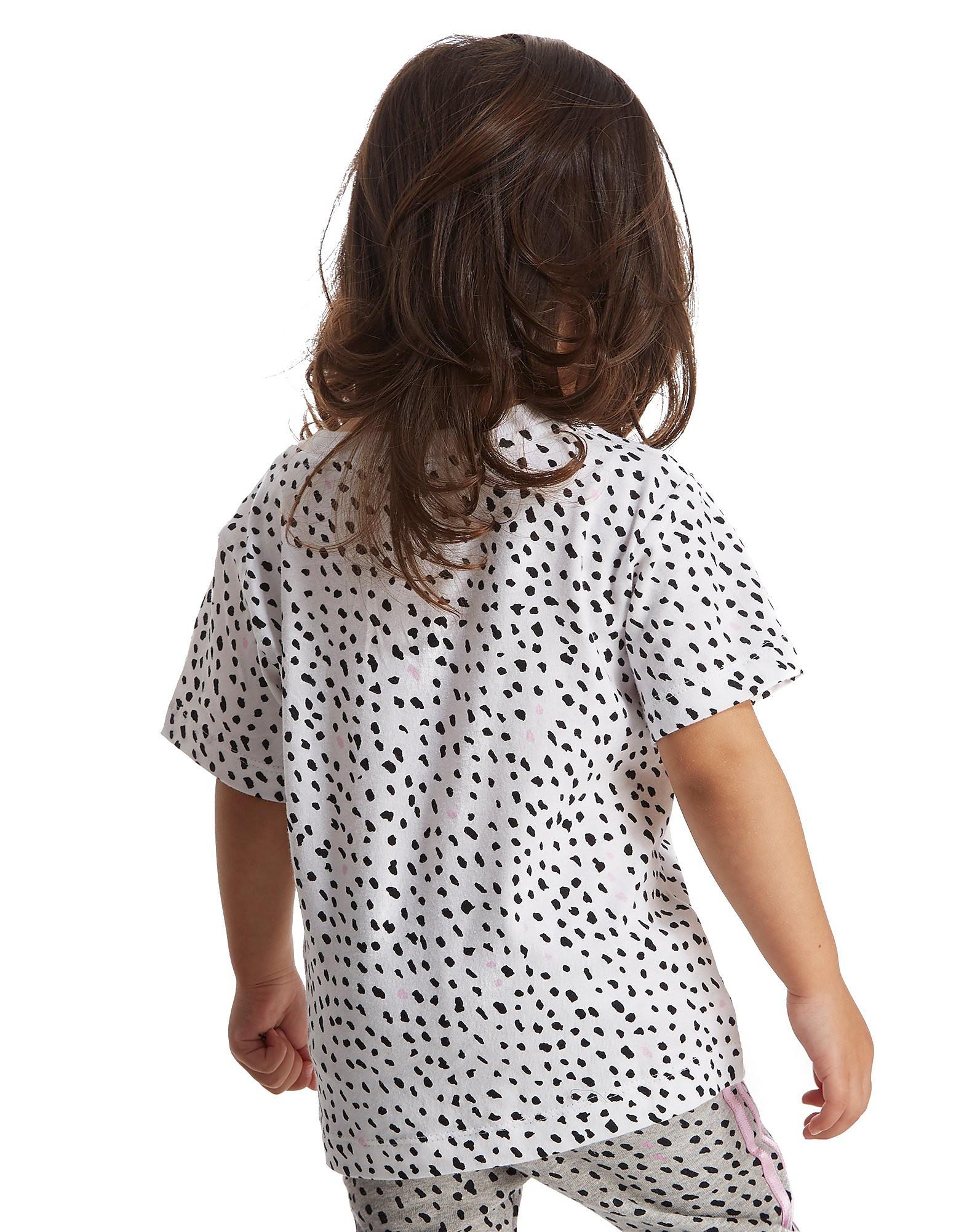 "adidas Girls Zebra ""Spots"" T-Shirt Infant"