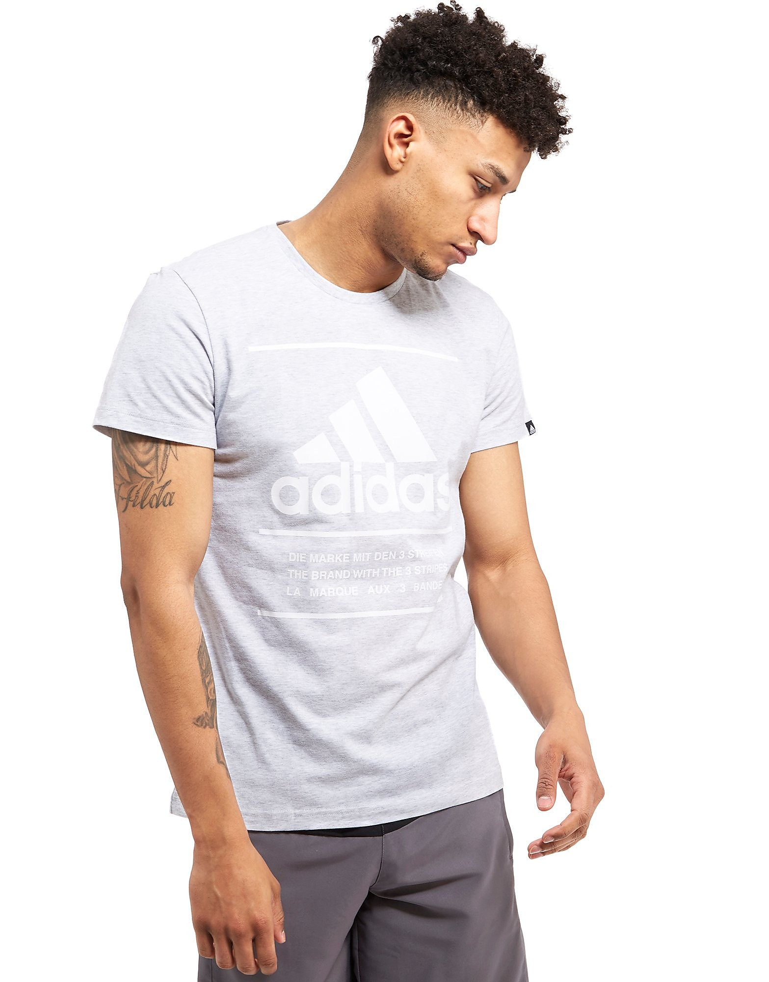 adidas T-shirt 3-stripes Perforated Homme