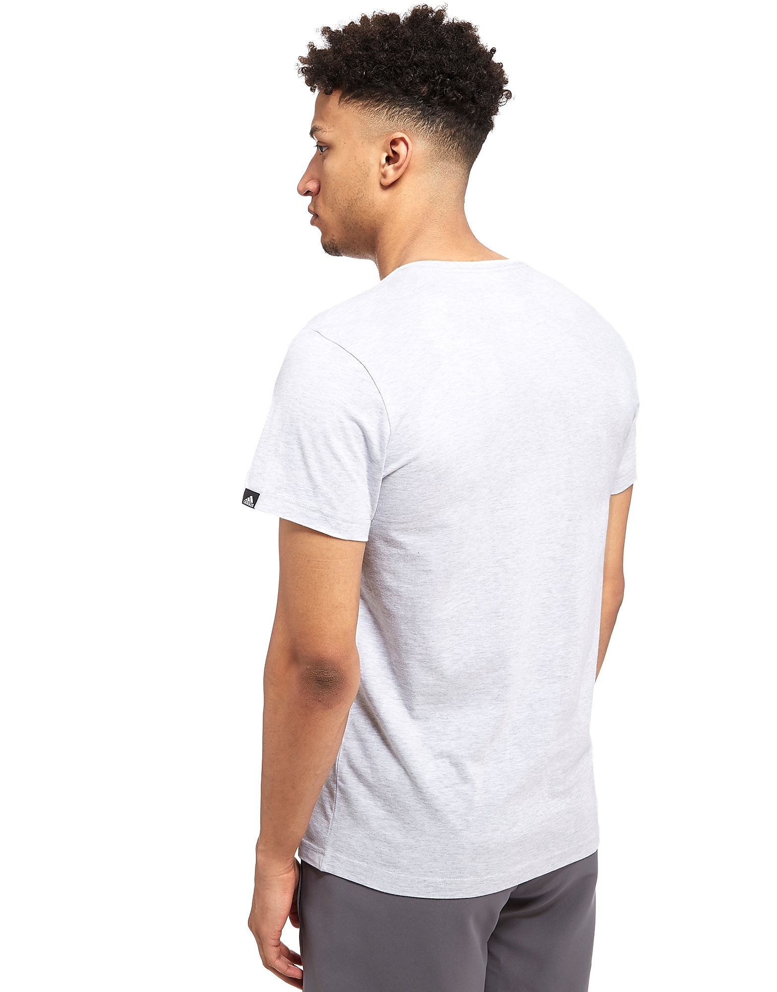 adidas 3-Stripes Perforated T-Shirt