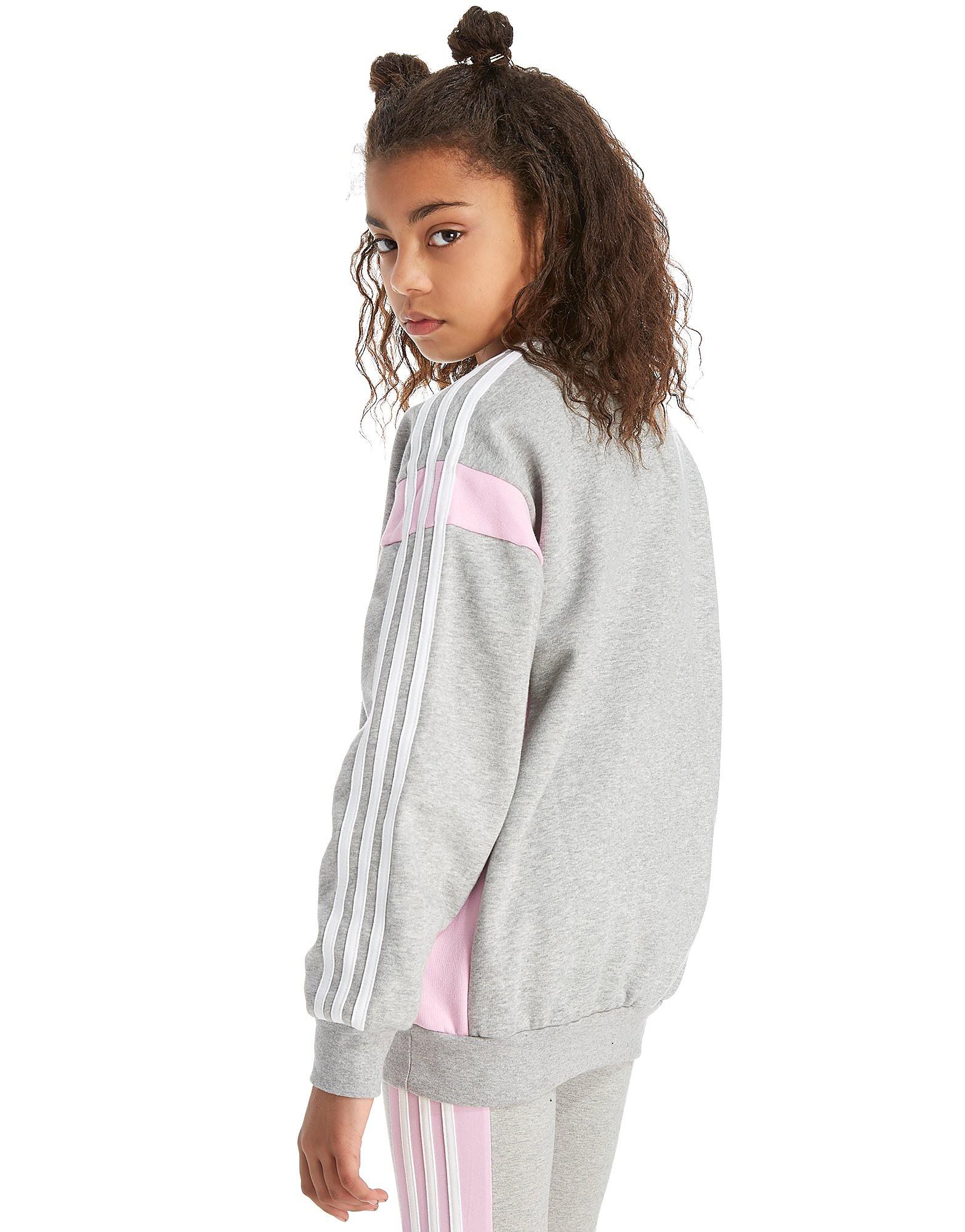 adidas Originals Boyfriend Fit Crew Sweatshirt Junior