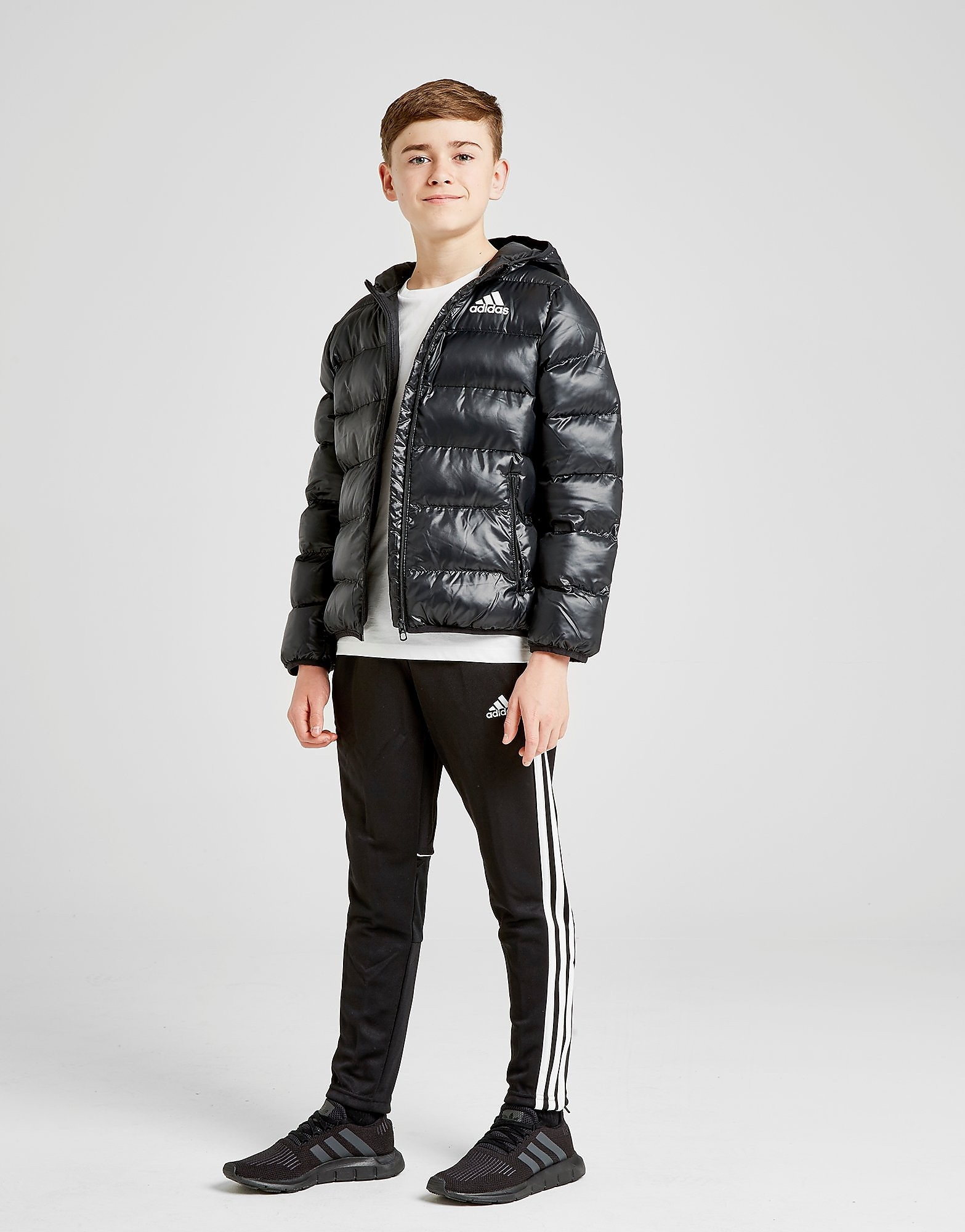 adidas Hooded Bomber Piumino Junior