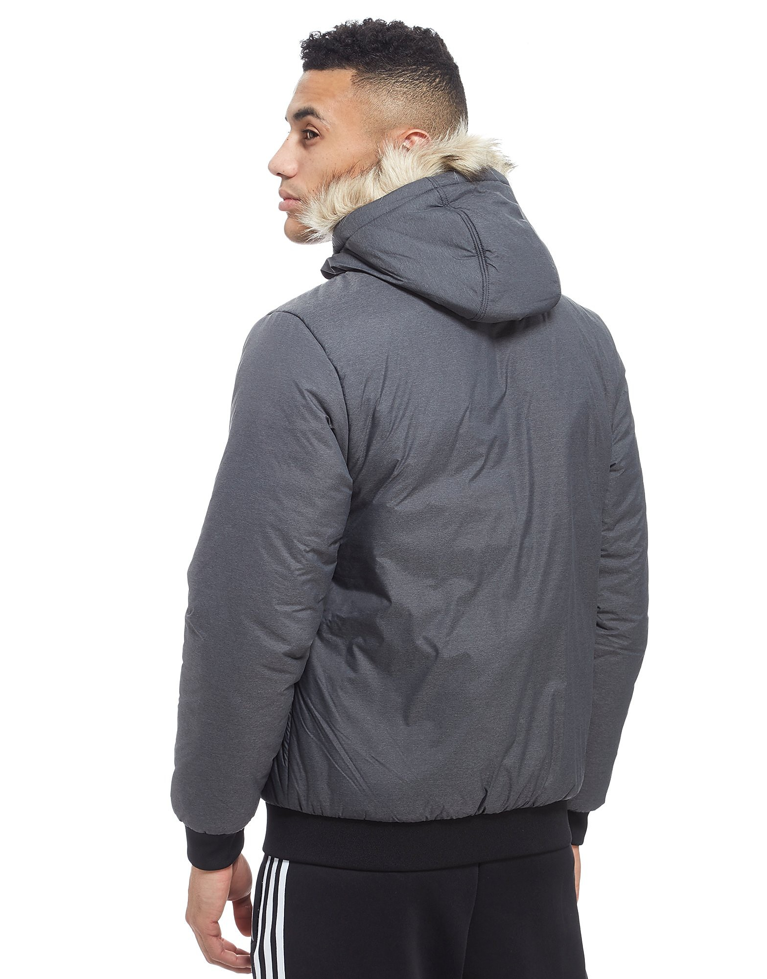 adidas Originals Trefoil Fur Parka Jacket