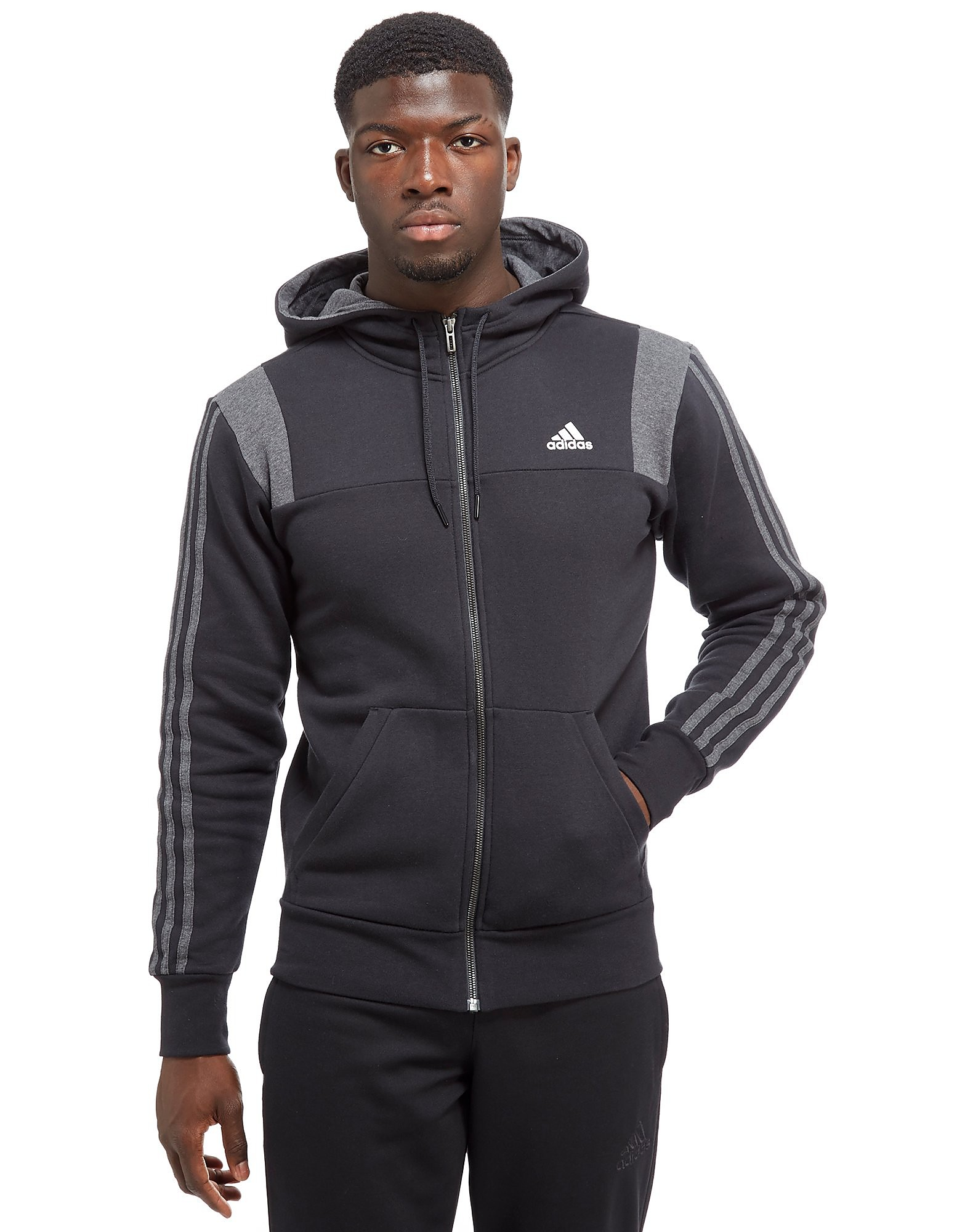 adidas 3-Stripes Essential Hoodie Heren