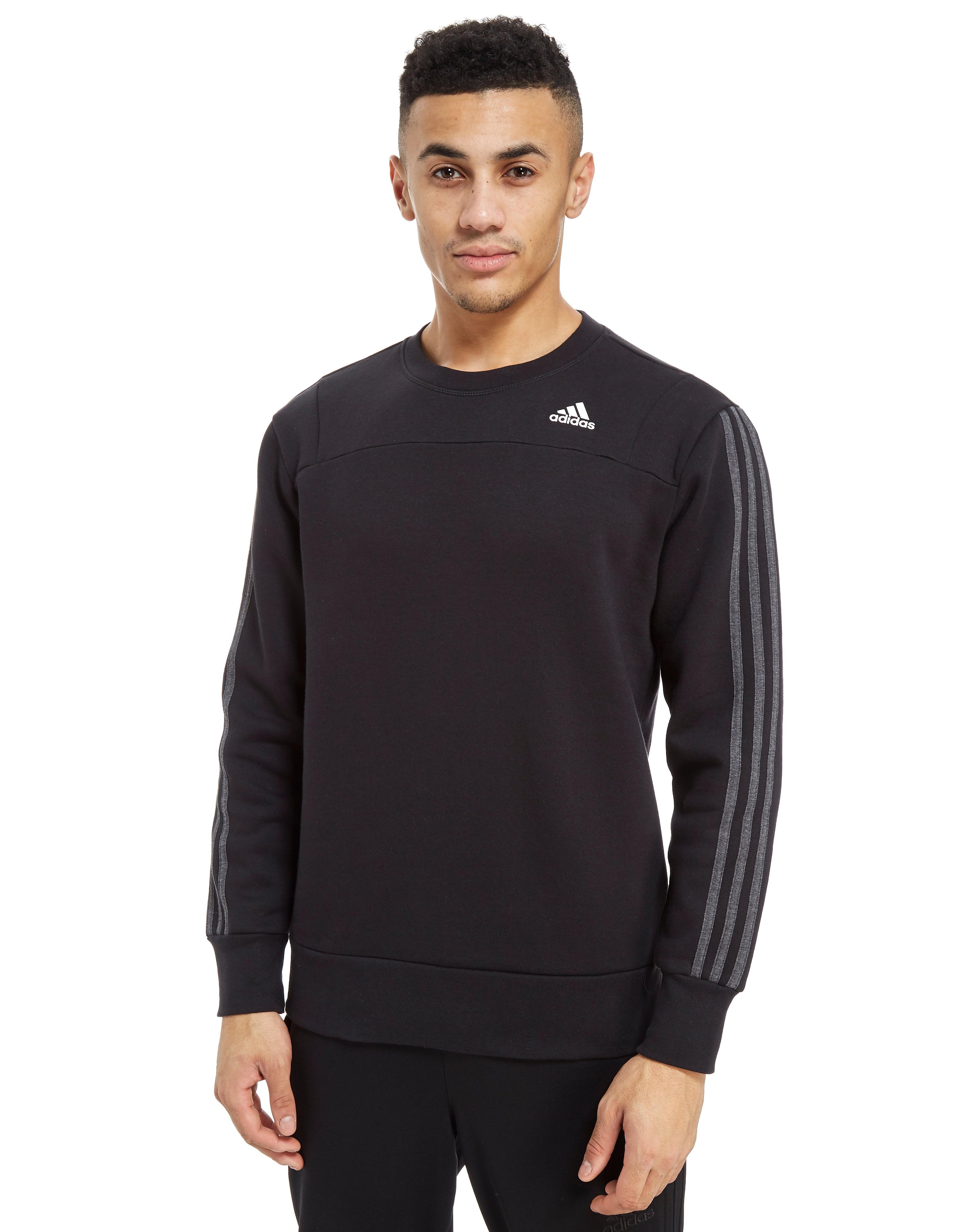 adidas 3-Stripes Essentials Crew Sweatshirt