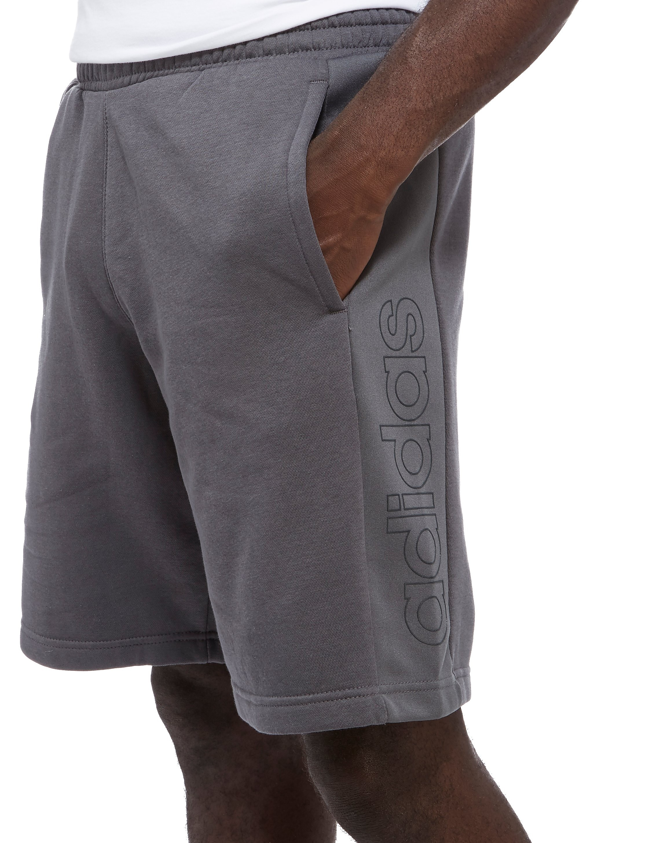 adidas Linear Fleece Shorts Heren