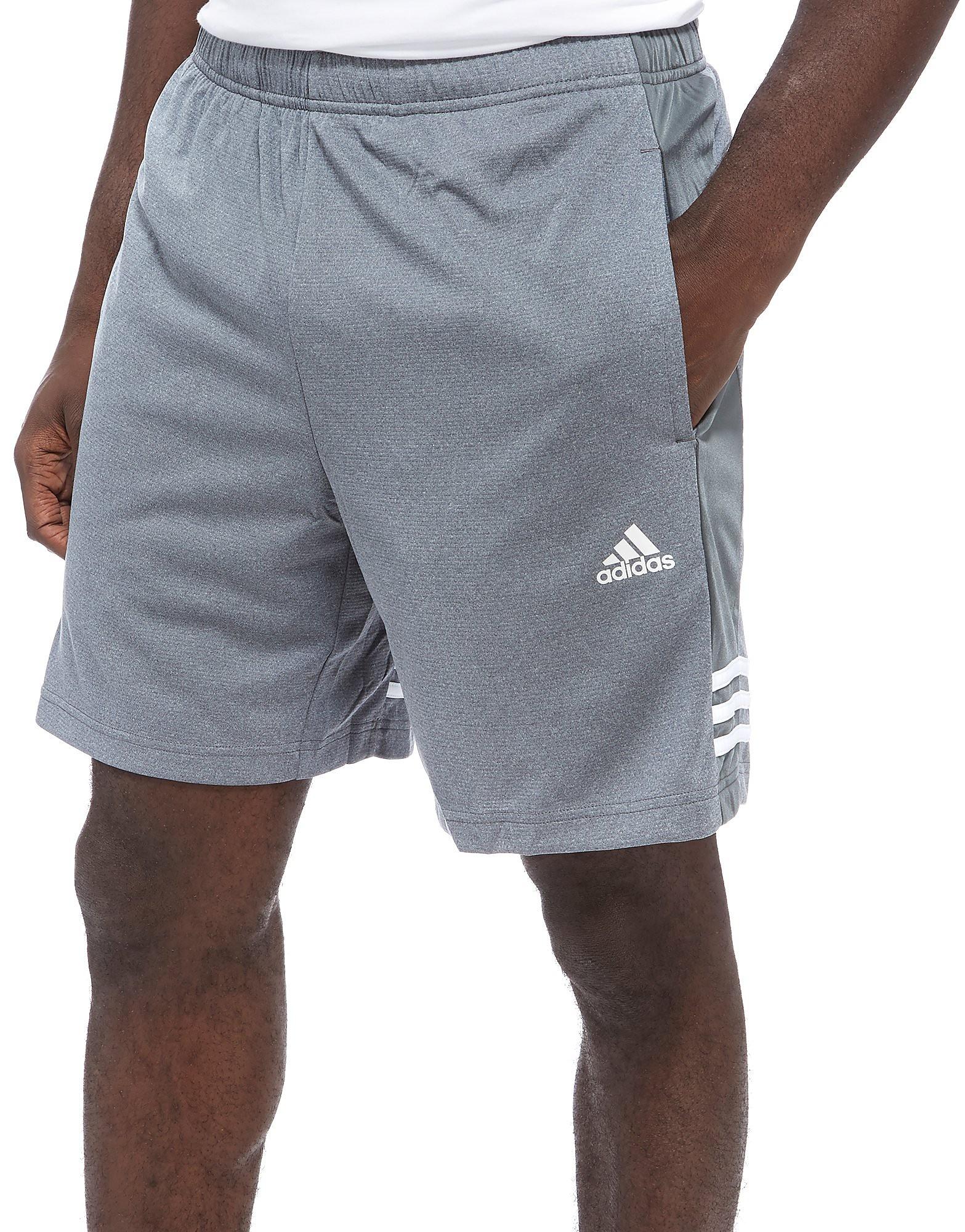 adidas Training Shorts Grey White