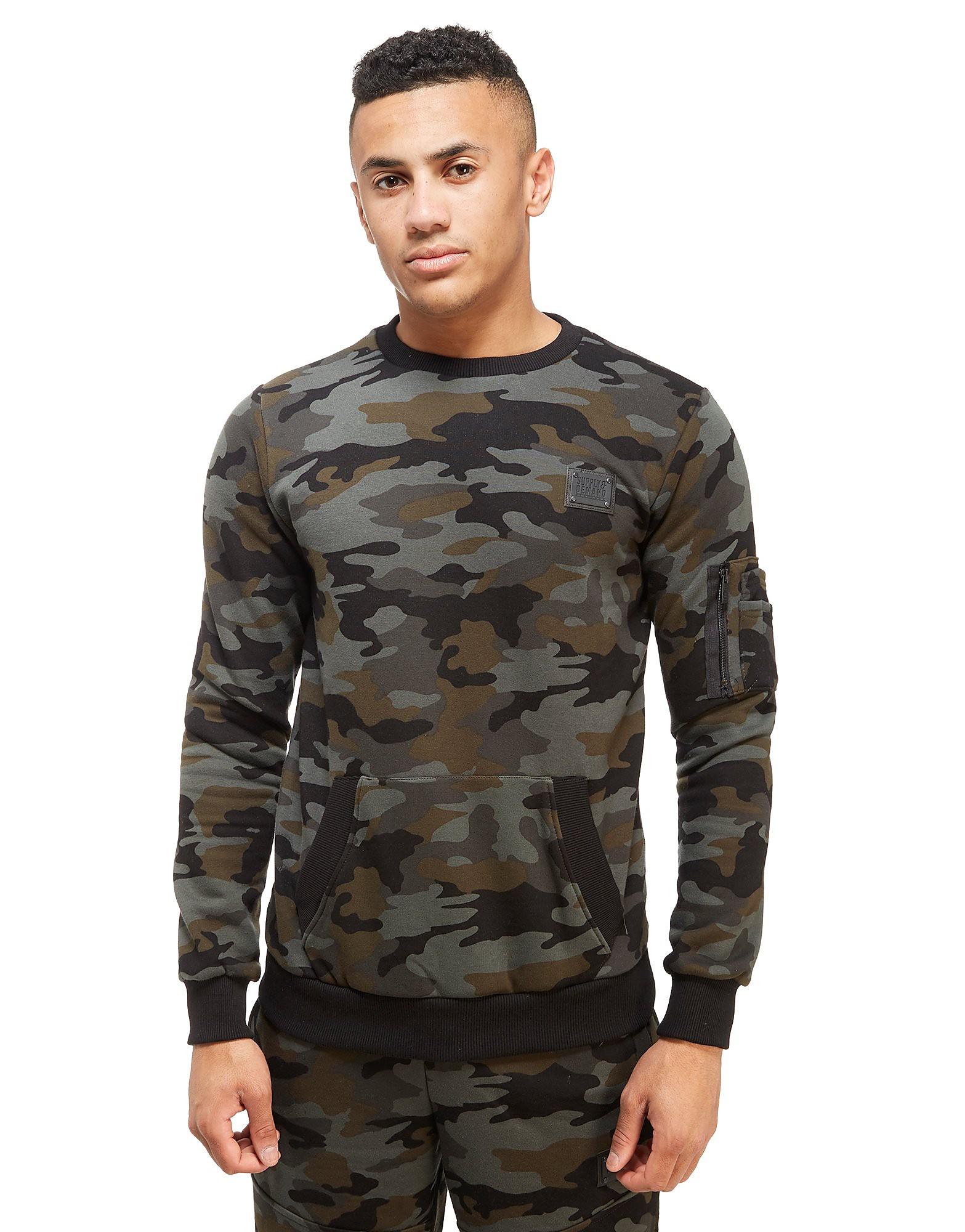 Supply & Demand Ammo Sweatshirt med Rund Hals