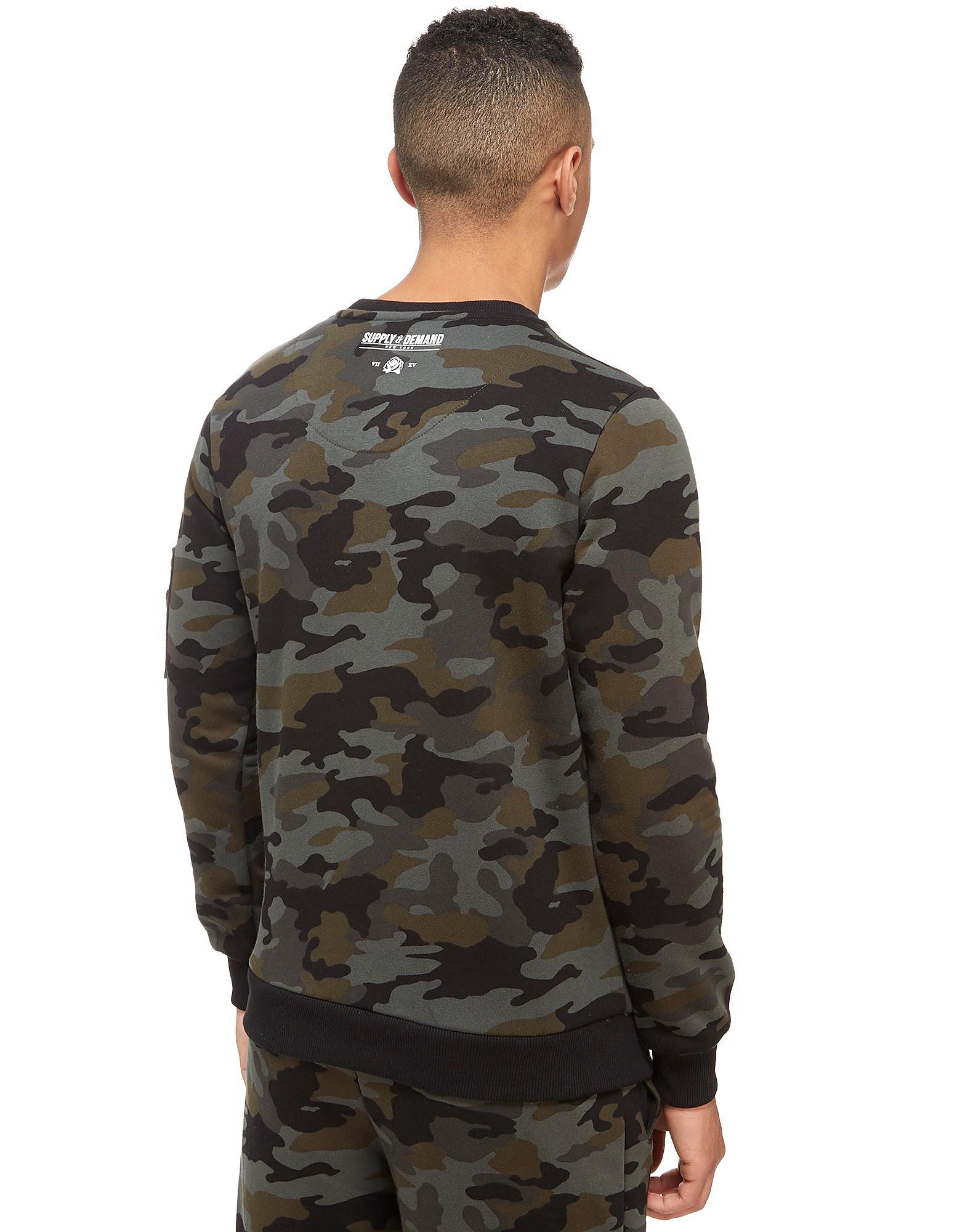 Supply & Demand Ammo Crew-sweatshirt