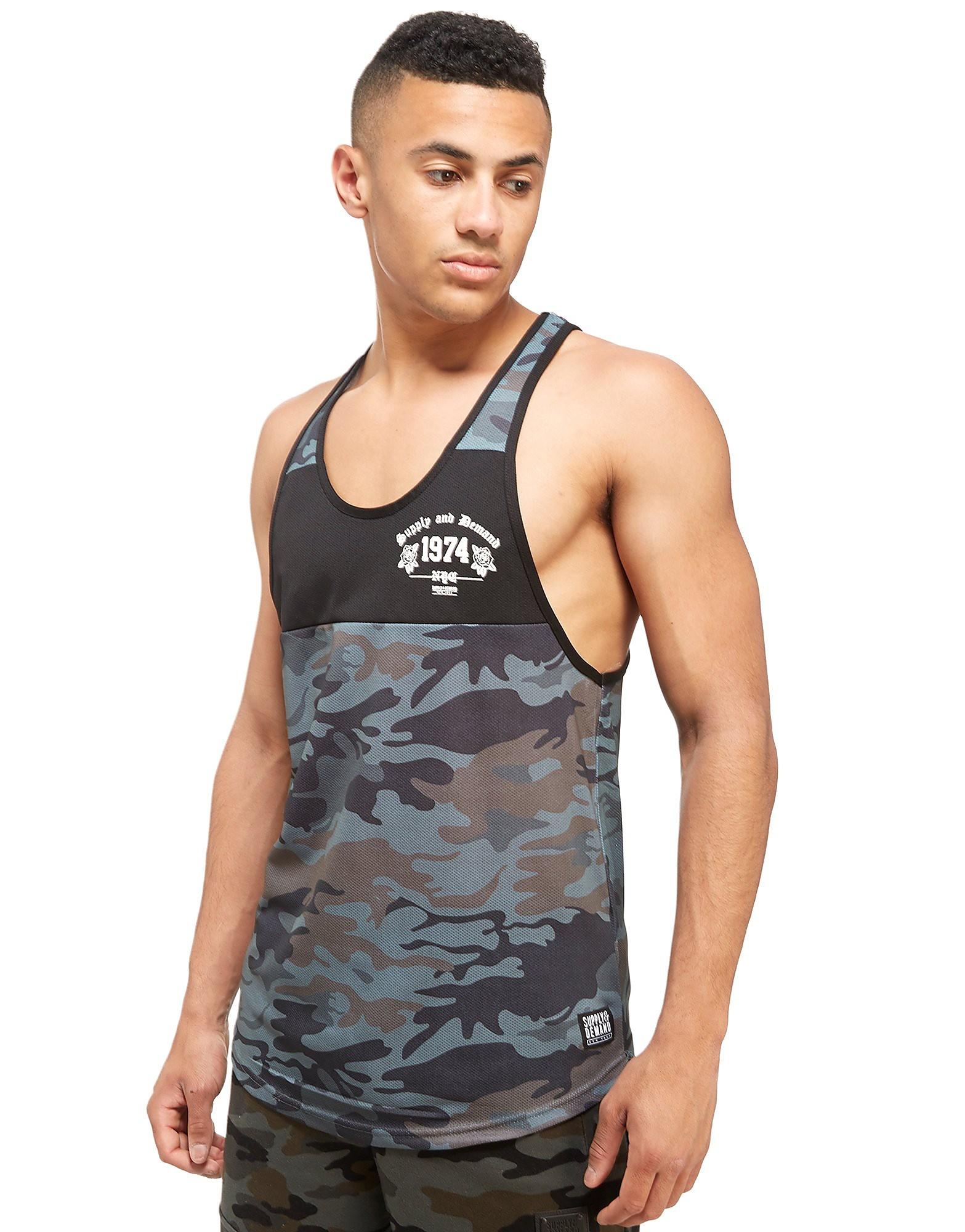 Supply & Demand Camo Pray Vest