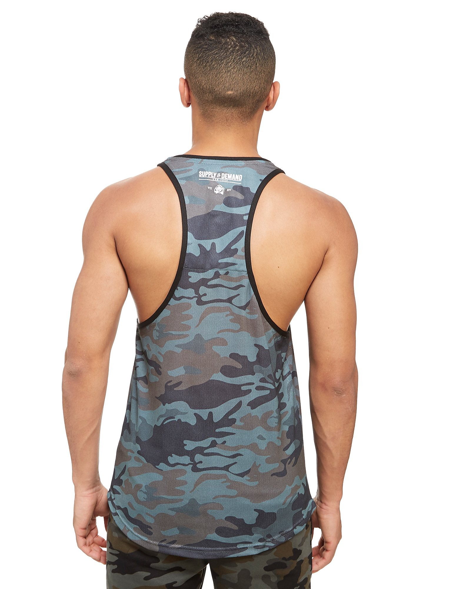 Supply & Demand Camo Pray Vest