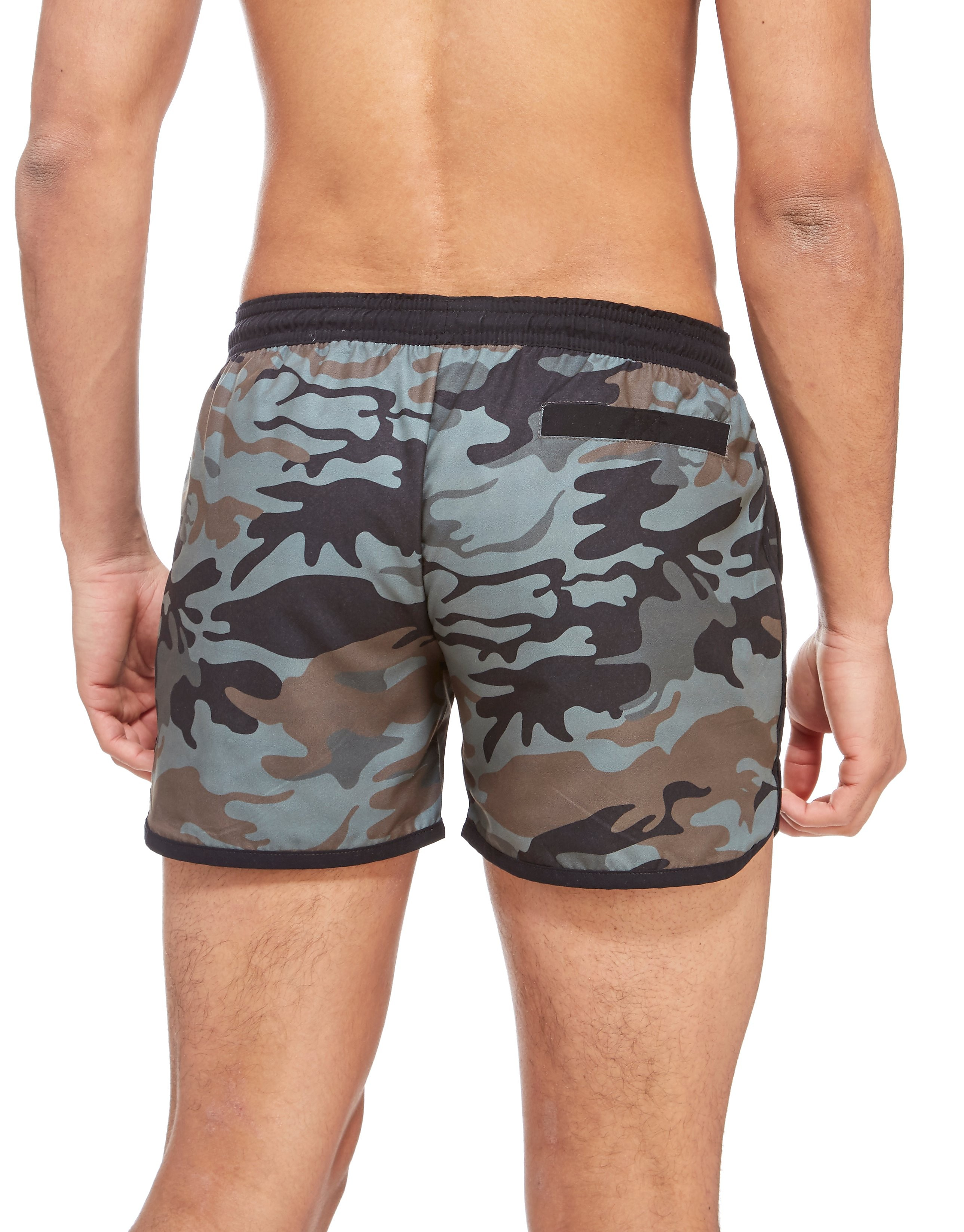 Supply & Demand Camo Pray Swim Shorts