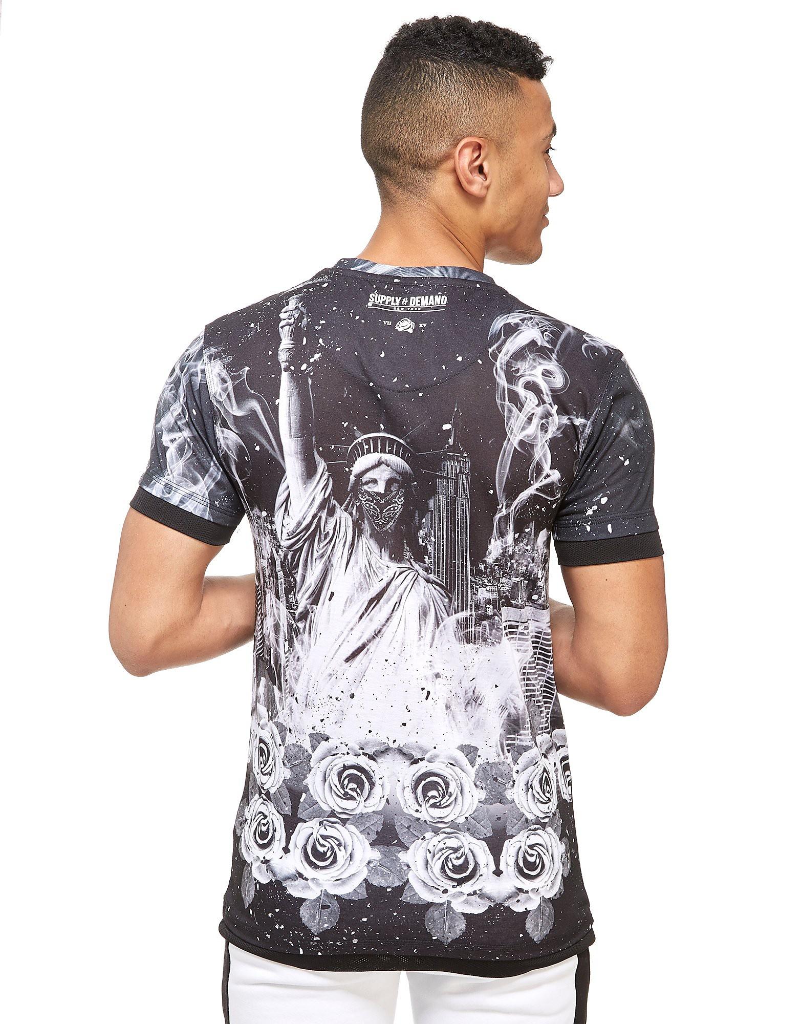Supply & Demand T-shirt Liberty Flame