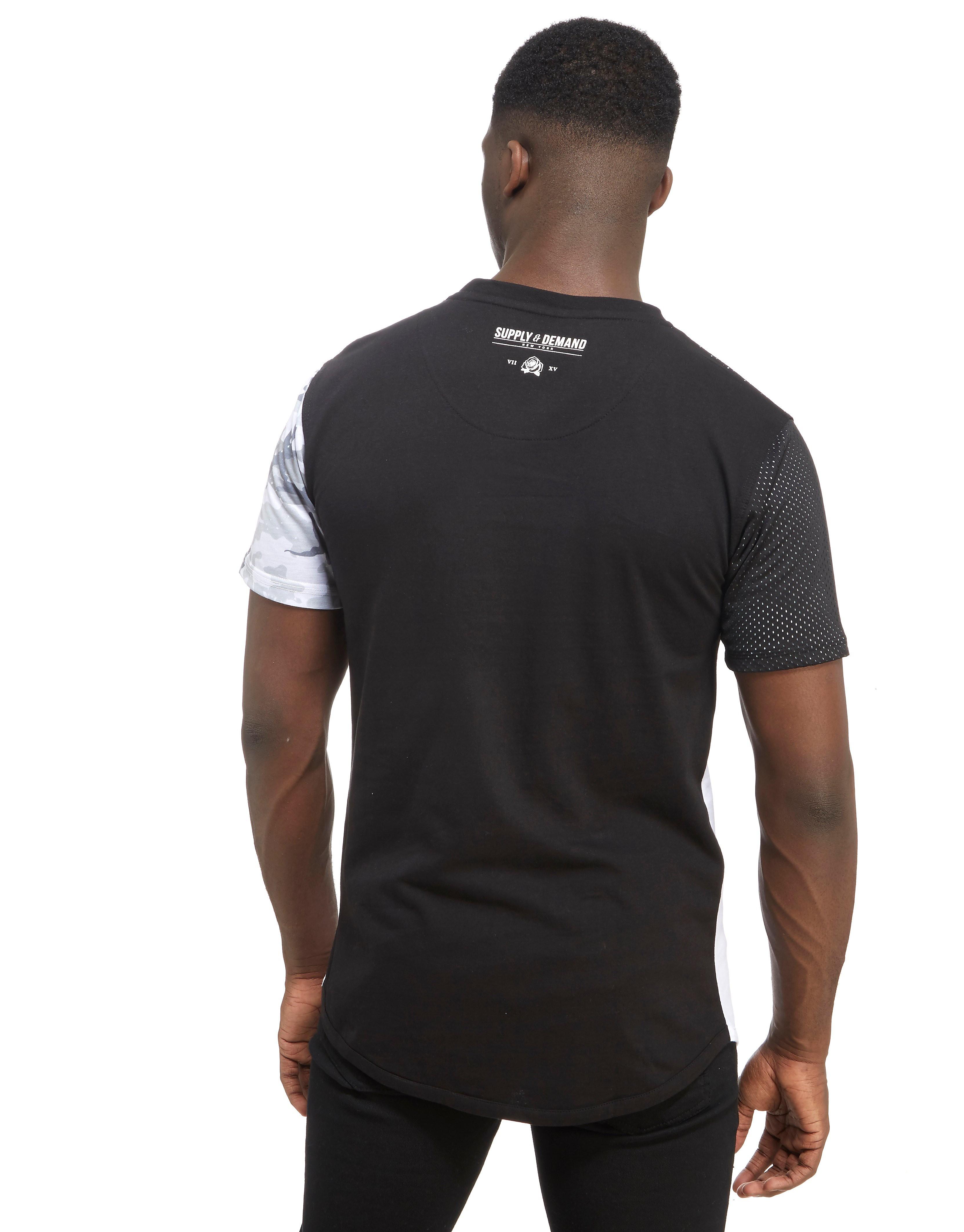 Supply & Demand Triple Zip T-Shirt