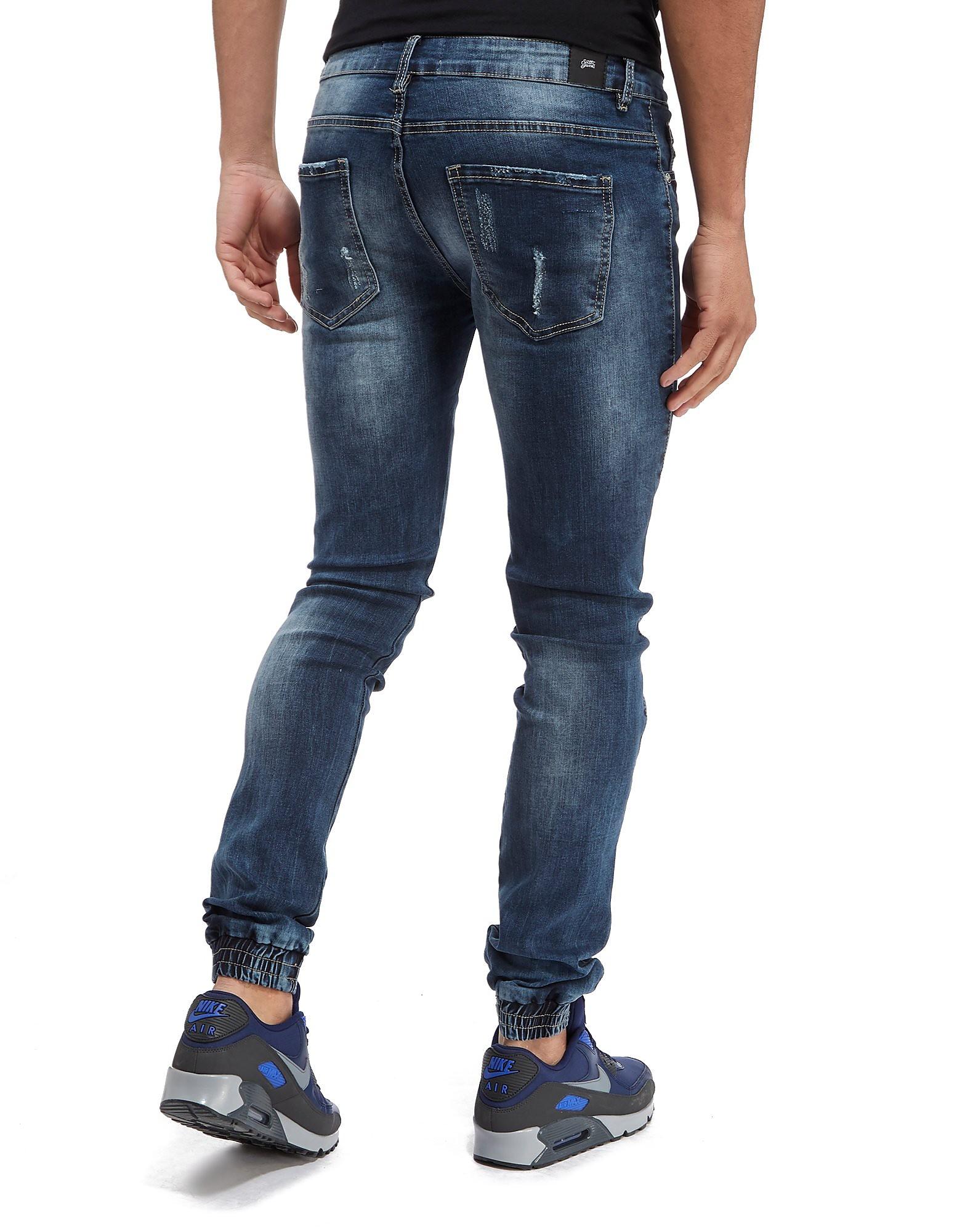 Sixth June Cuff Biker Jeans