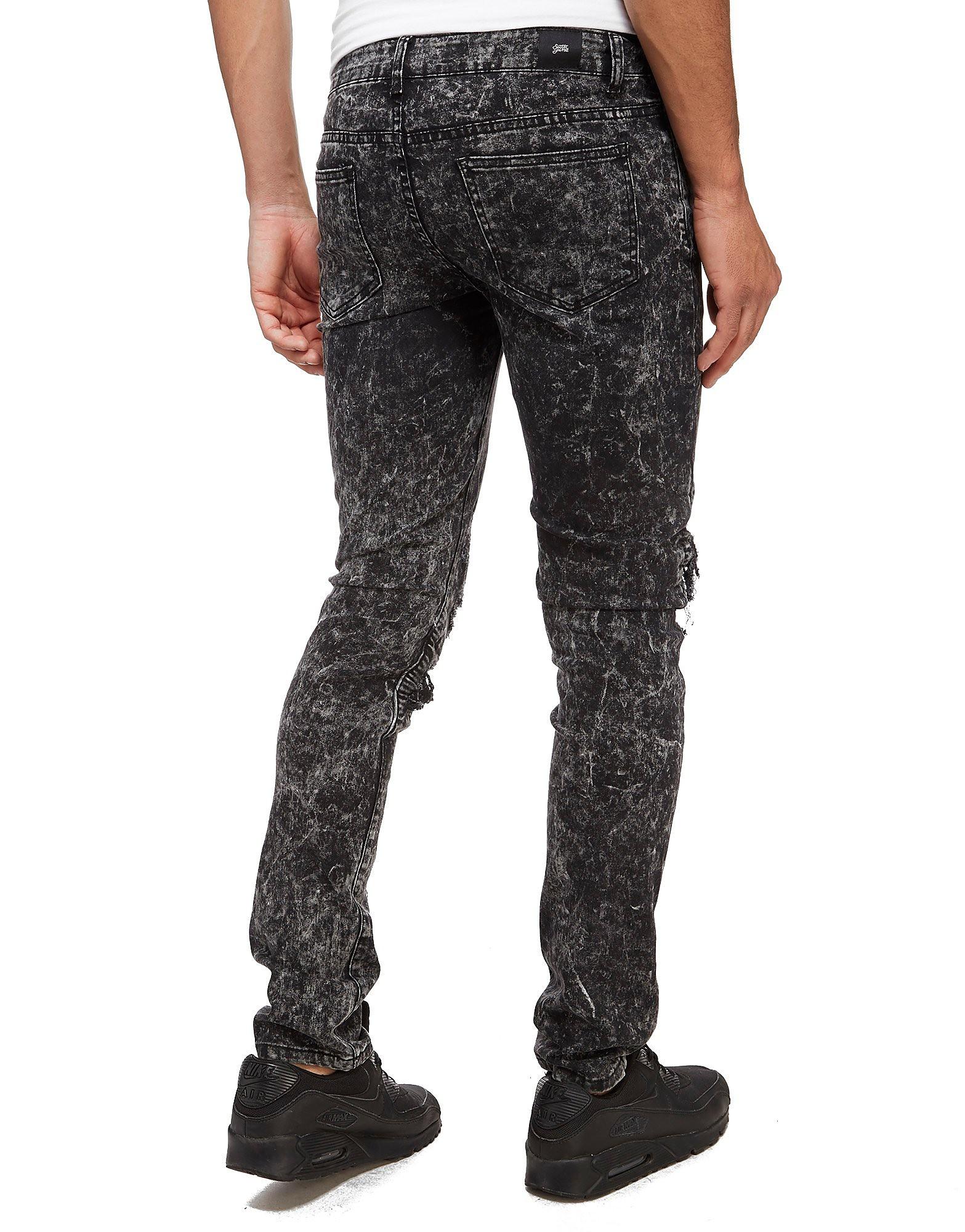 Sixth June Plain Biker Jeans
