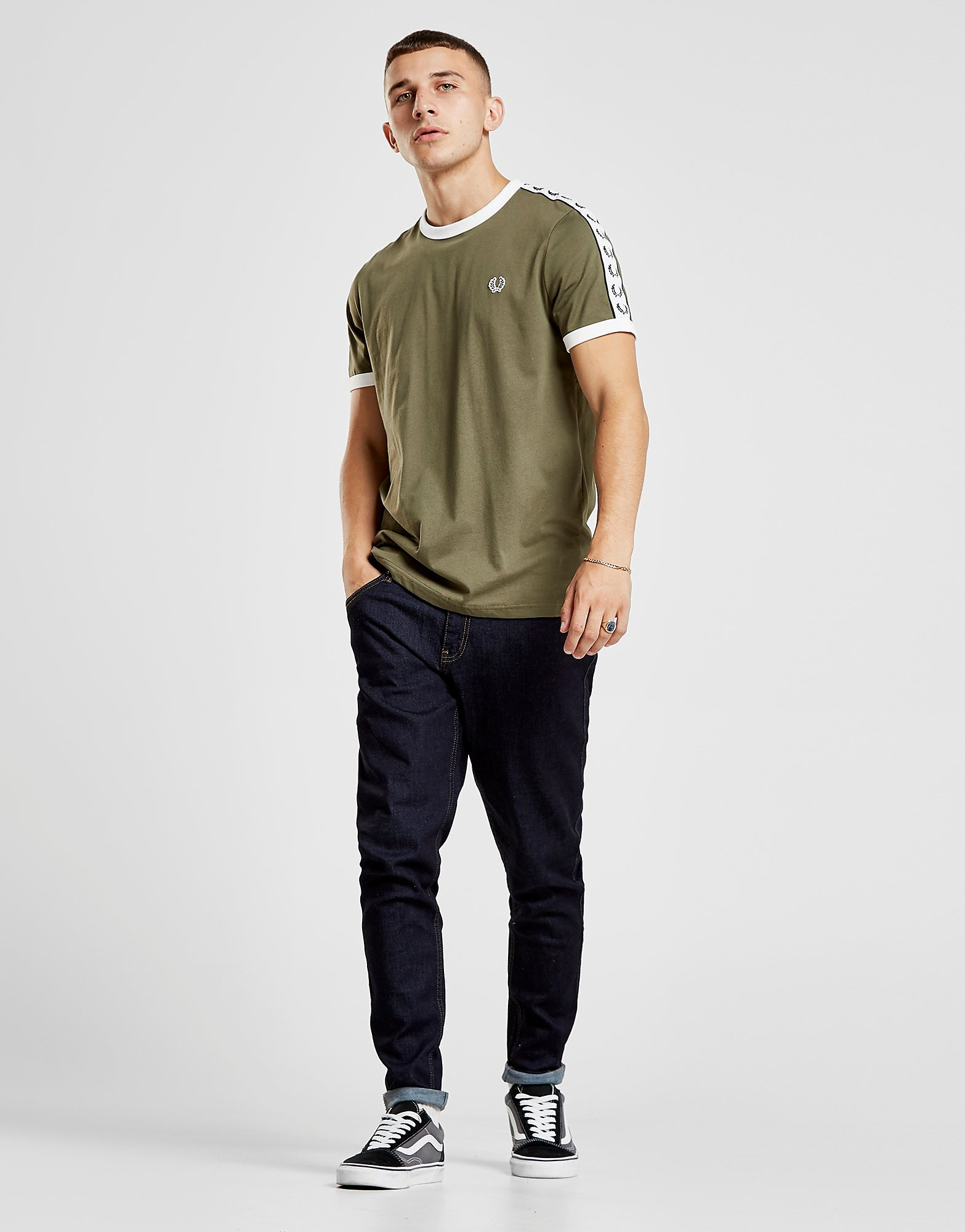 Fred Perry SA Tape T-Shirt