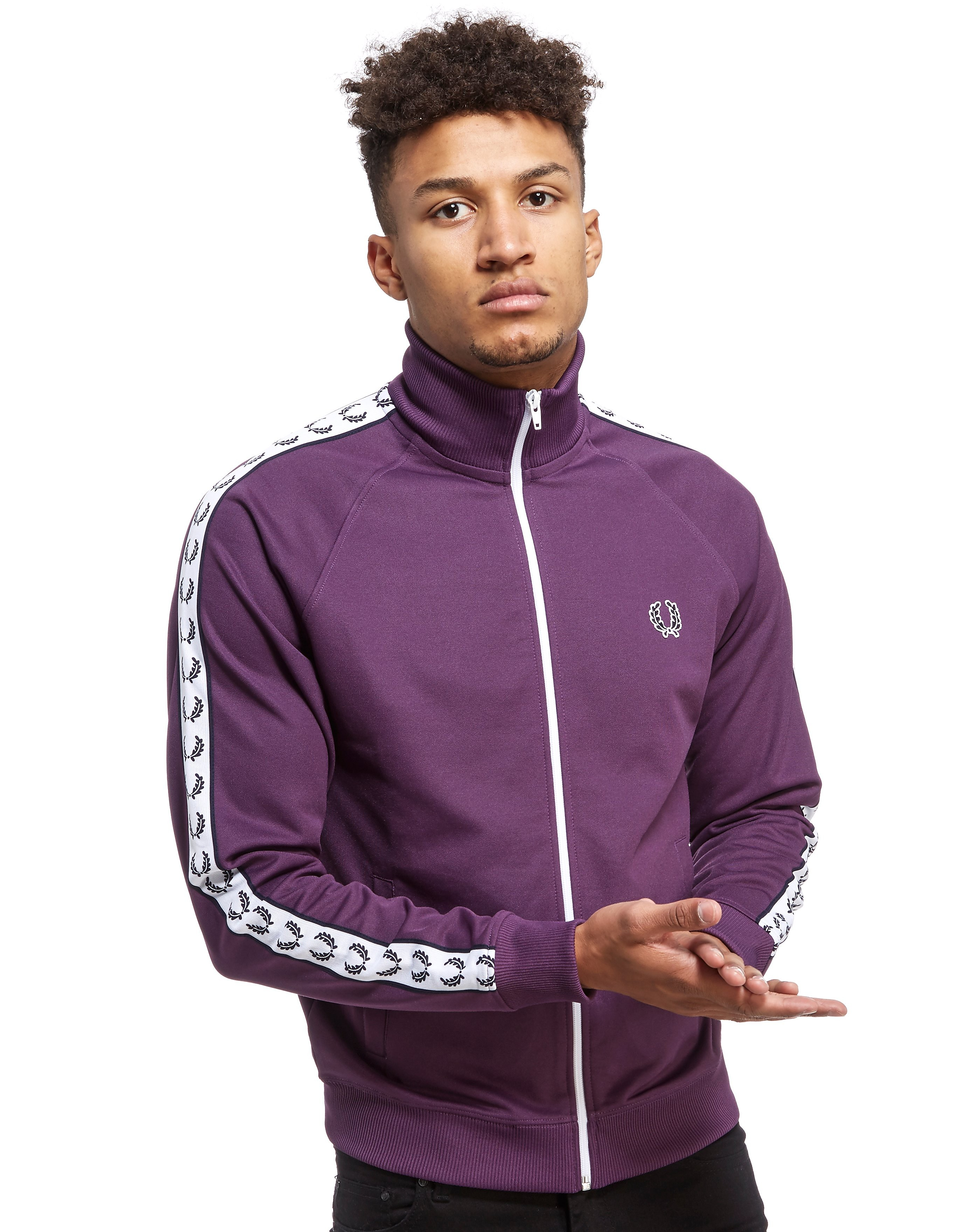 Fred Perry Sports Authentic Tape Track Top