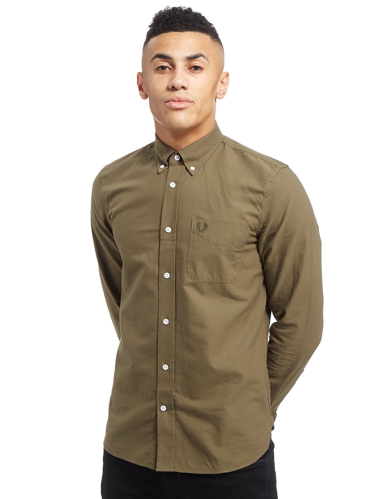 Fred Perry Oxford Long Sleeve Shirt