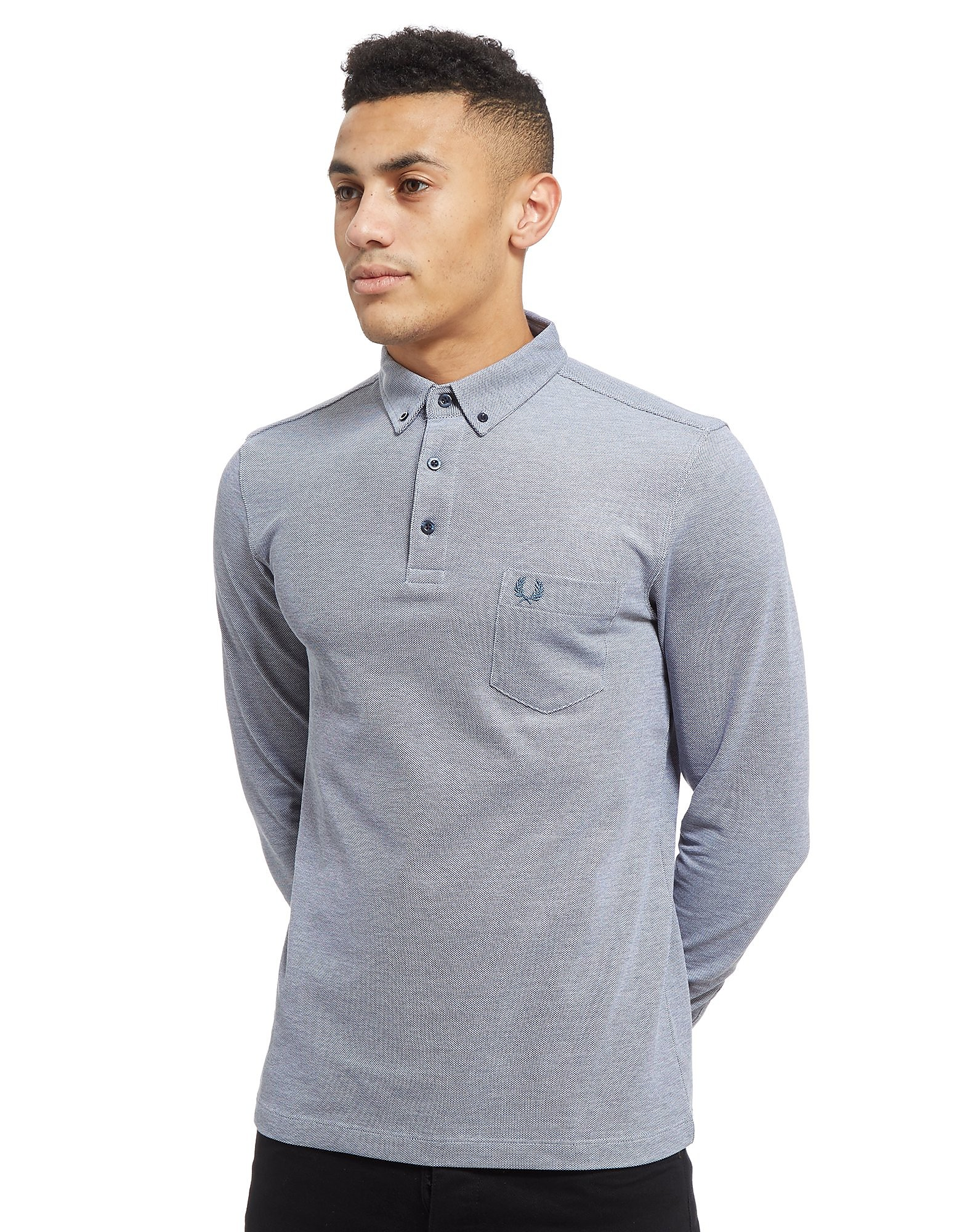 Fred Perry Oxford Long Sleeve Polo Shirt
