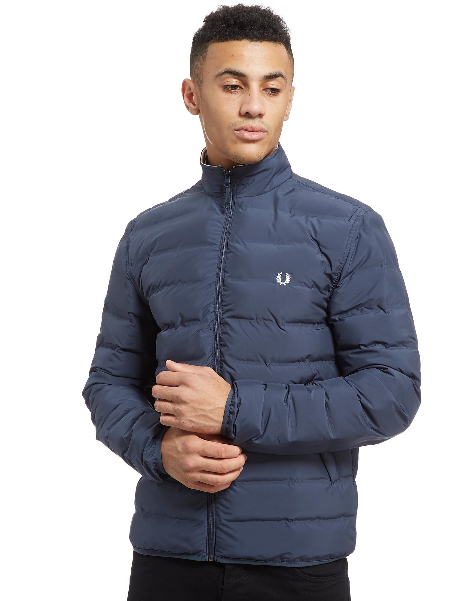 Fred Perry Funnel Neck Bubble Jacket