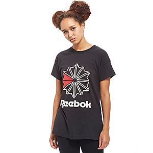 Reebok Classics Starcrest Logo T-Shirt ...