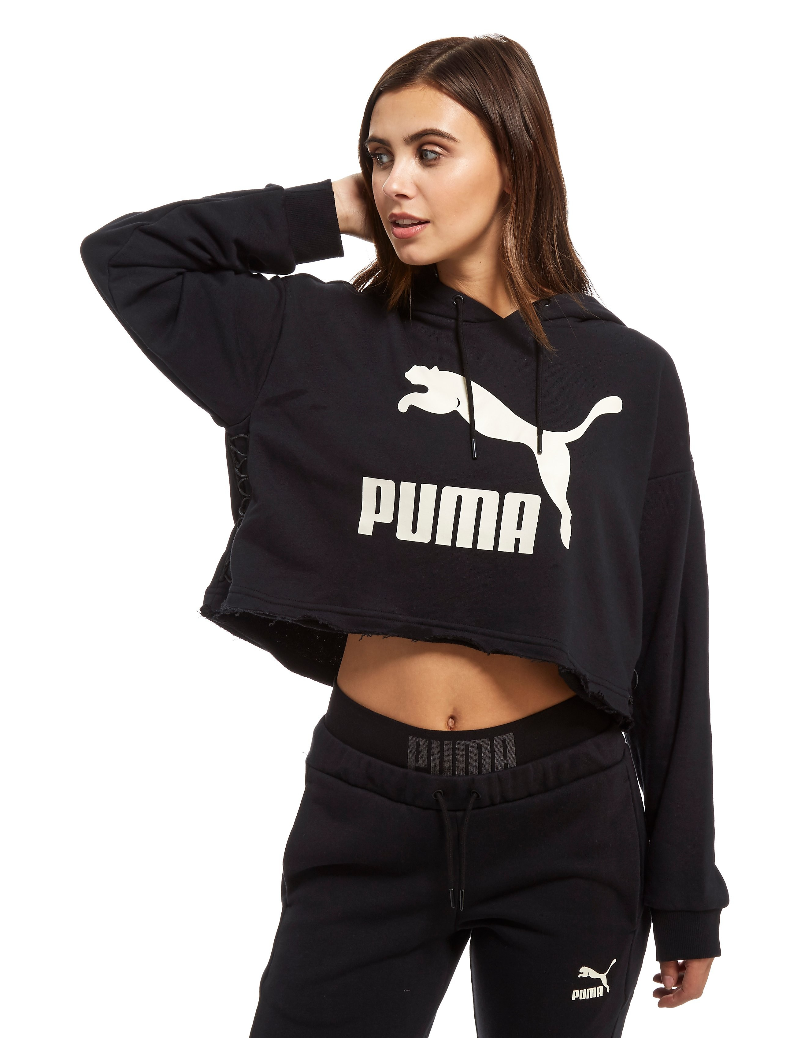 PUMA Lace Up Hoody