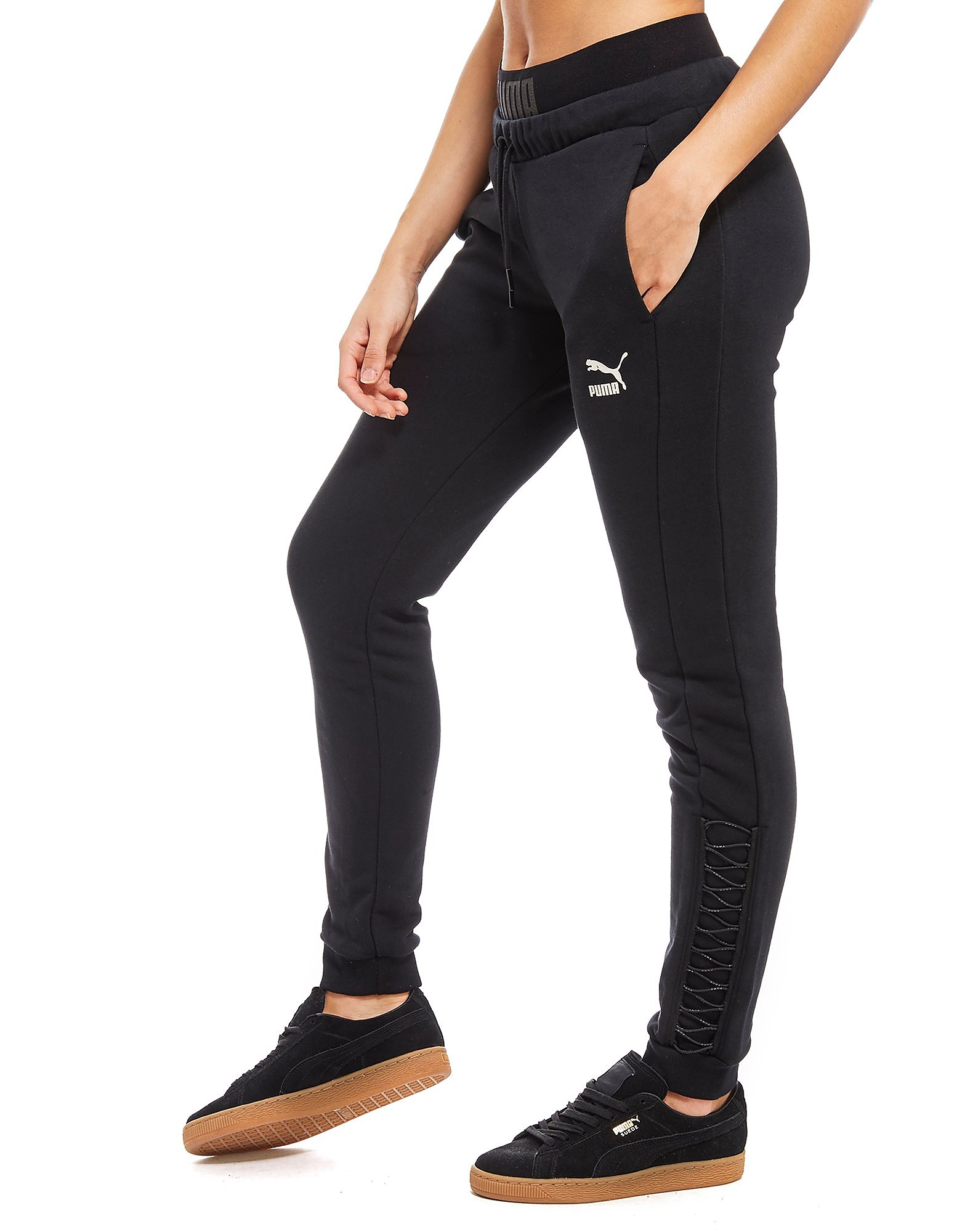 PUMA Lace Up Joggers Dames