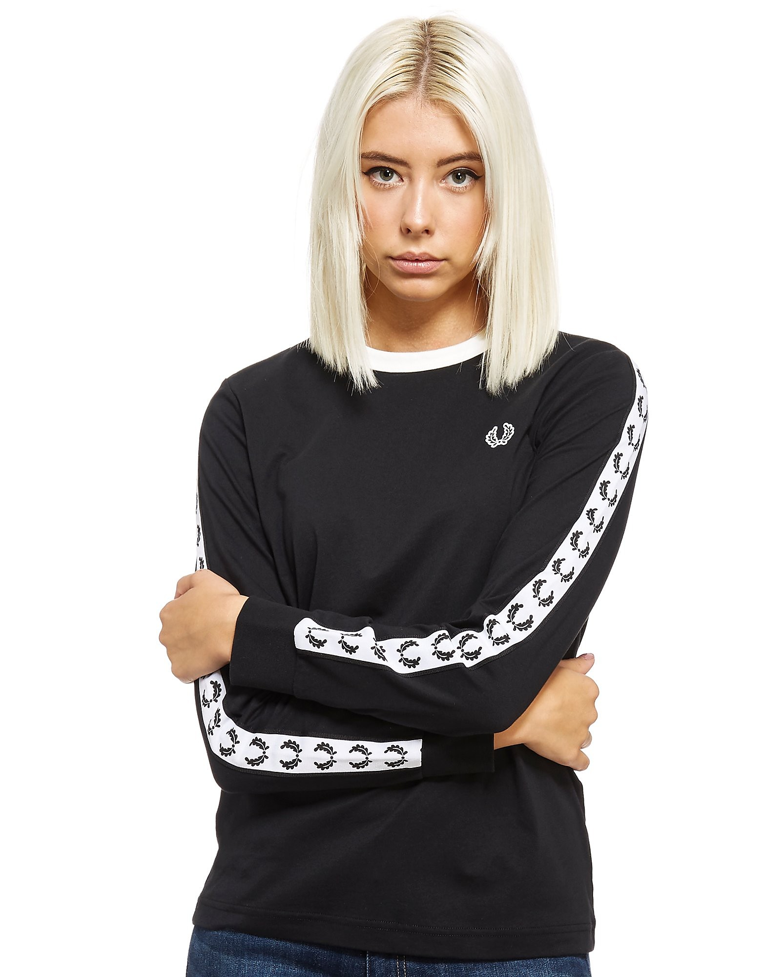 Fred Perry Tape Long Sleeve Ringer
