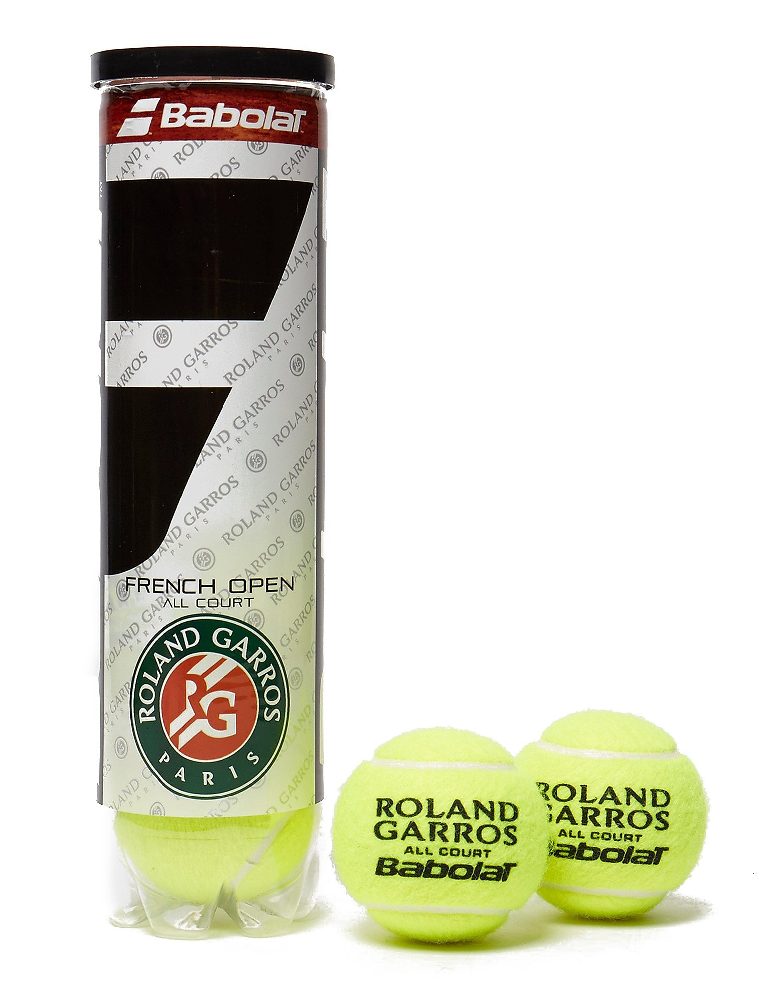 Babolat French Open Tennis Balls (Can of 4)