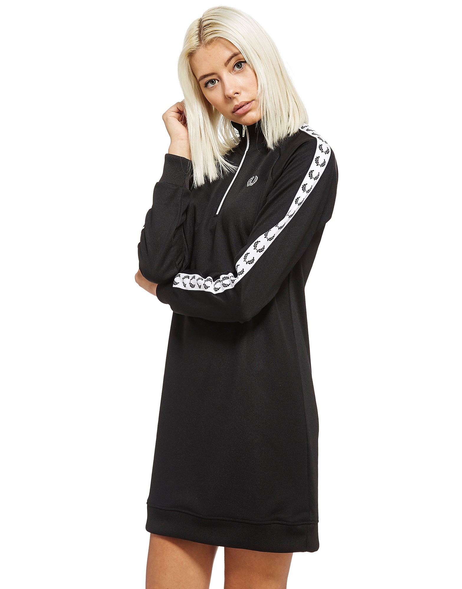 Fred Perry Tape 1/2 Zip Dress