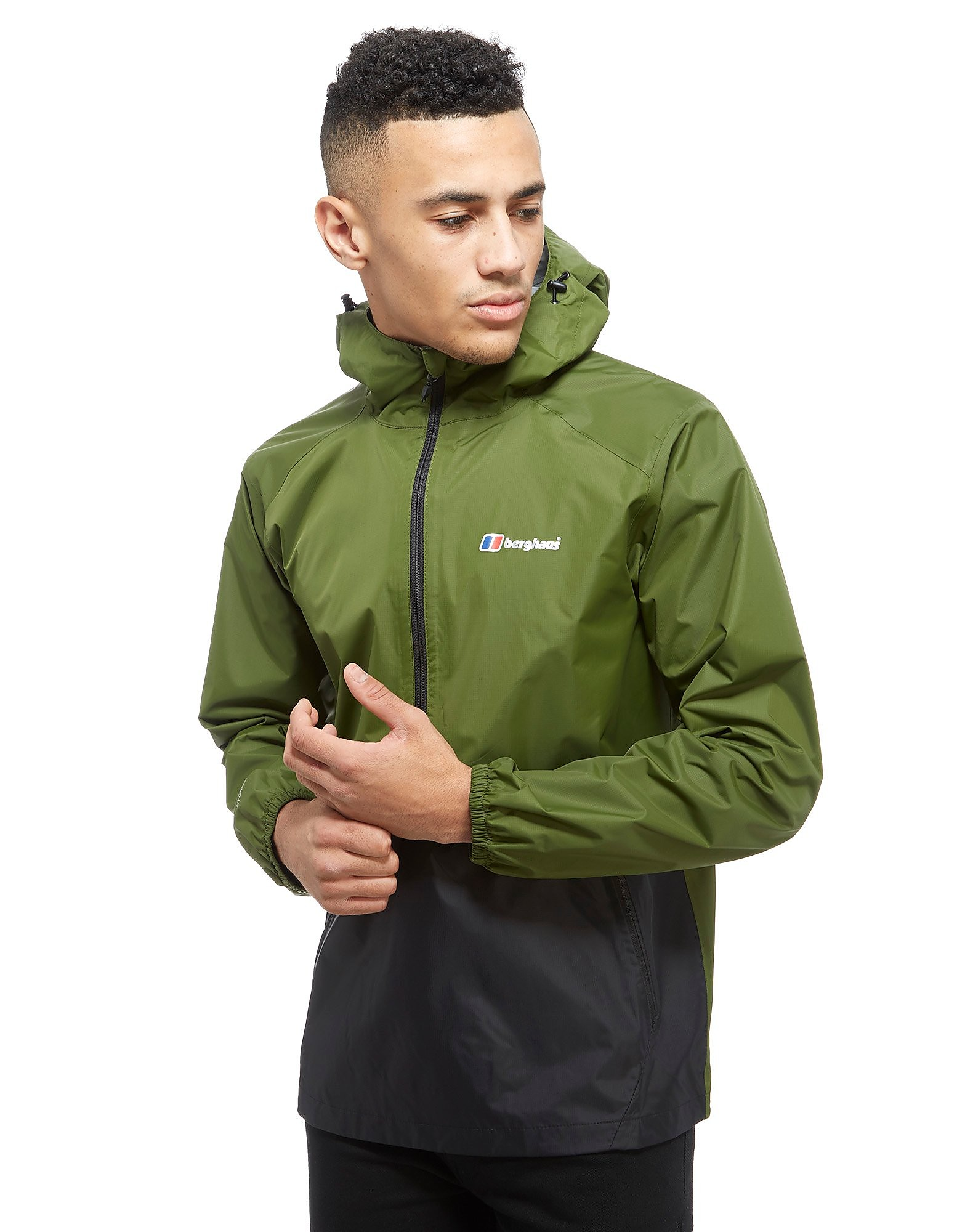 Berghaus Deluge Half Zip Waterproof Jacket