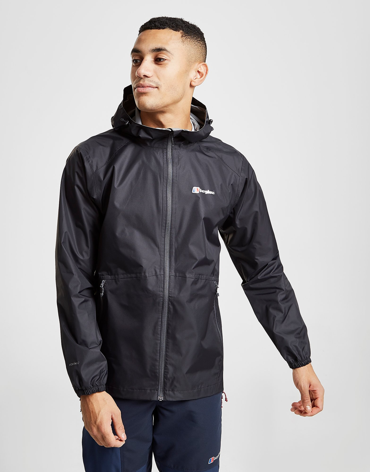 Berghaus Deluge Light Jacket Heren - Zwart - Heren