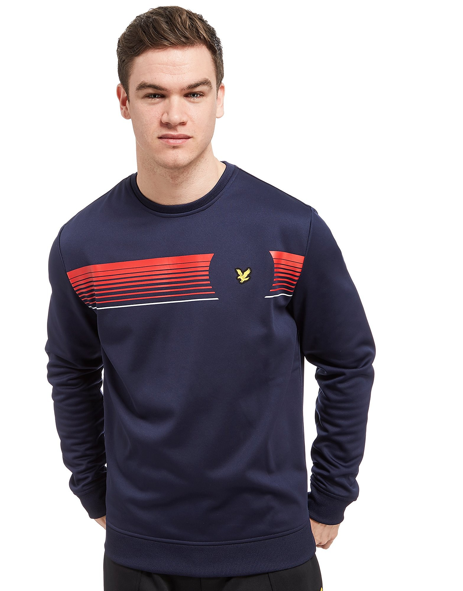 Lyle & Scott Johnson Graphic Crew Sweatshirt