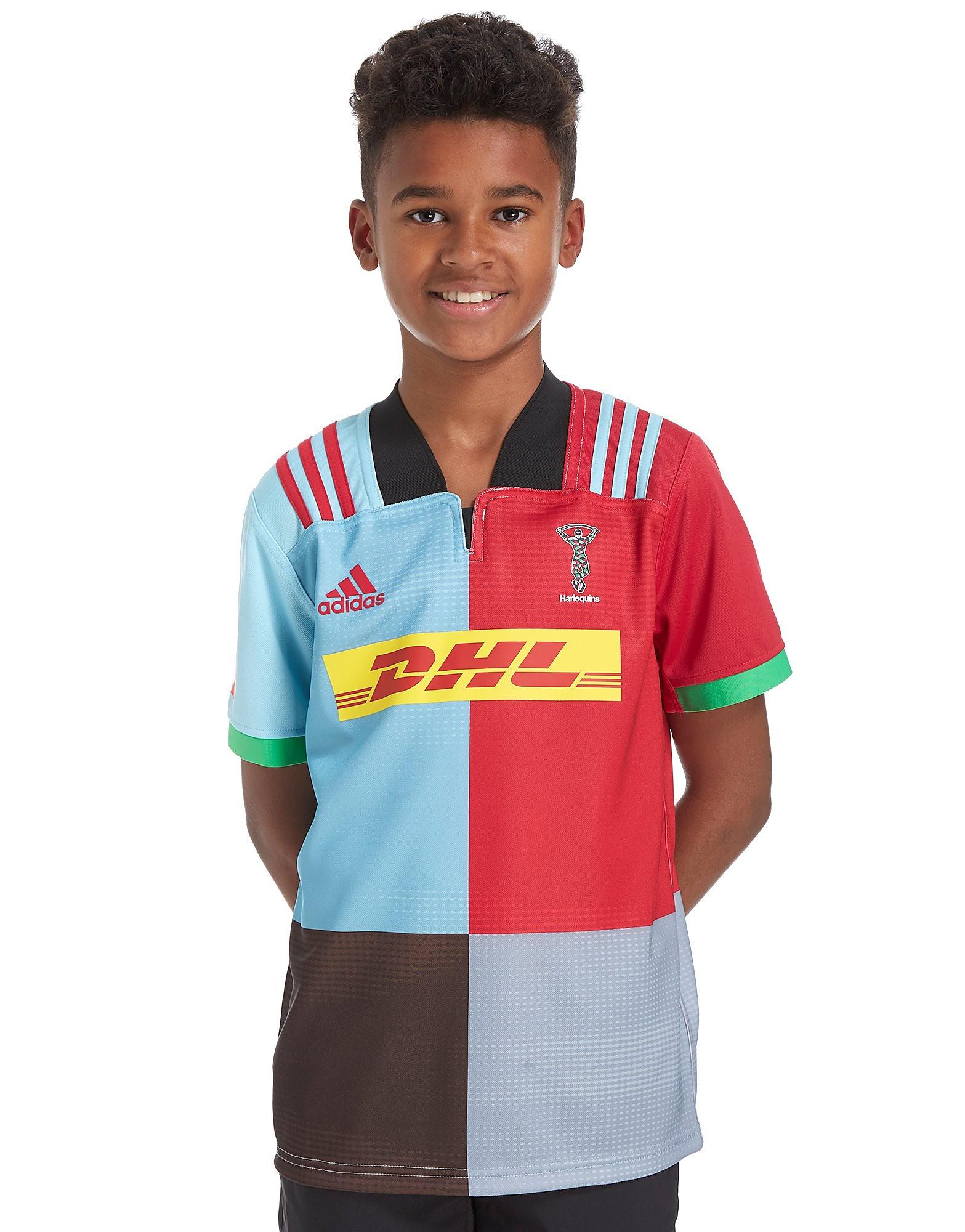 adidas Harlequins Home Shirt 2017/18 Junior