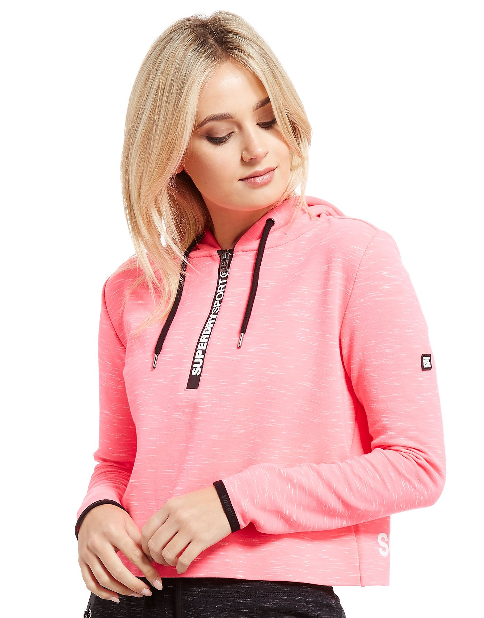 Superdry Sport Gym Tech Cropped Hoodie