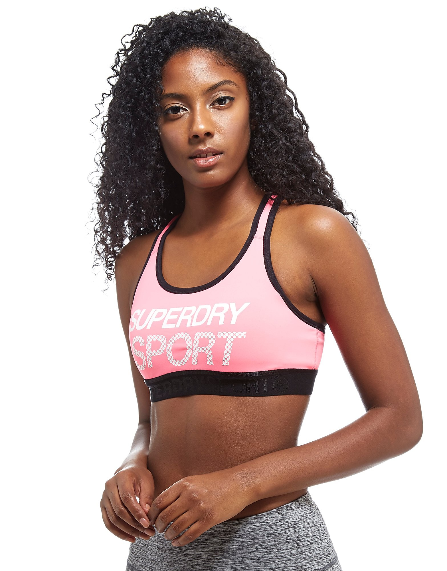 Superdry Sport Essentials Graphic Sports Bra