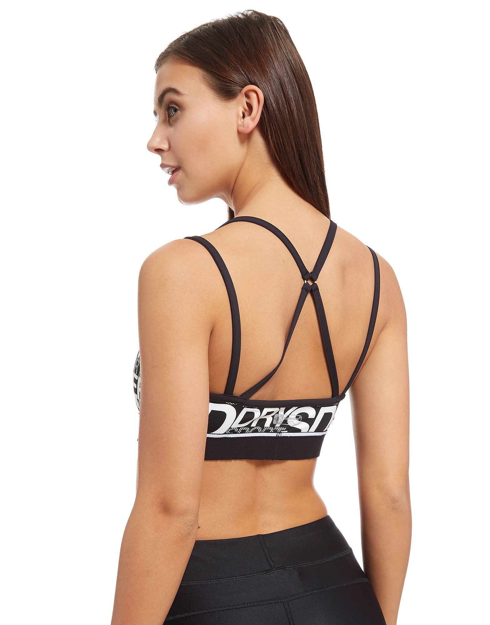 Superdry Sport All Over Print Sports Bra