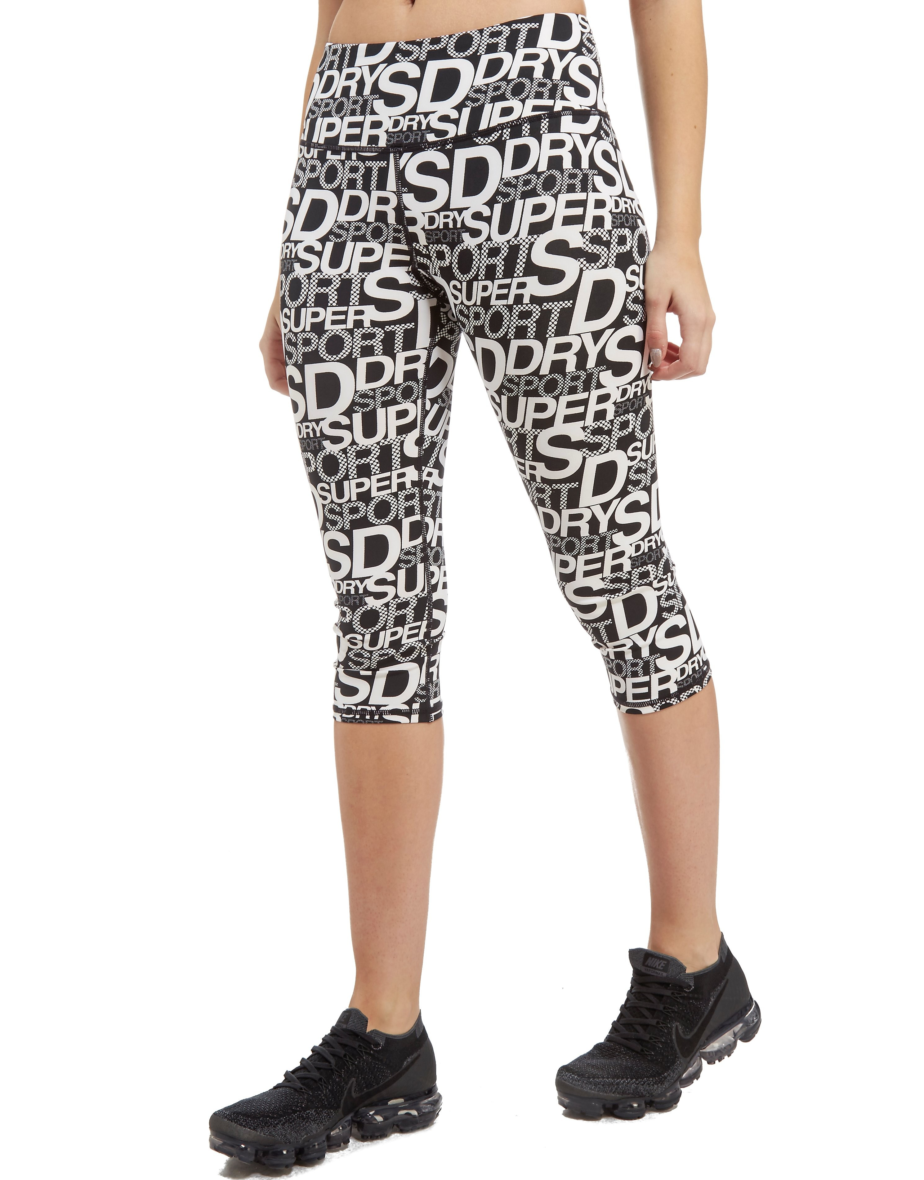 Superdry Sport leggings All Over Print Capri