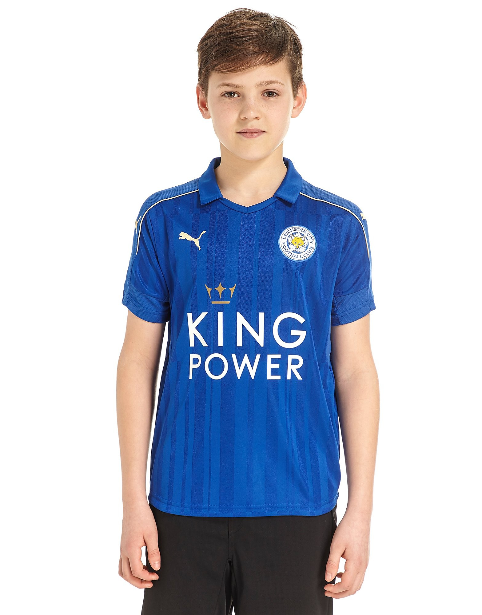 PUMA Leicester City FC 2016/17 Home Shirt Junior