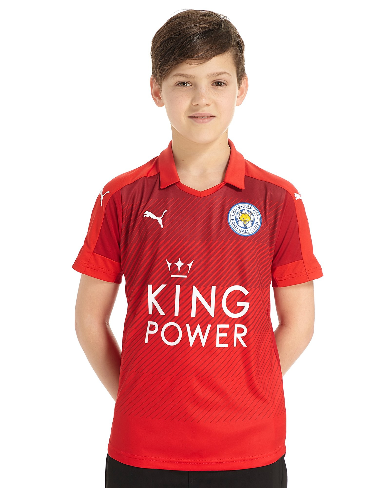 PUMA Leicester City FC 2016/17 Away Shirt Junior