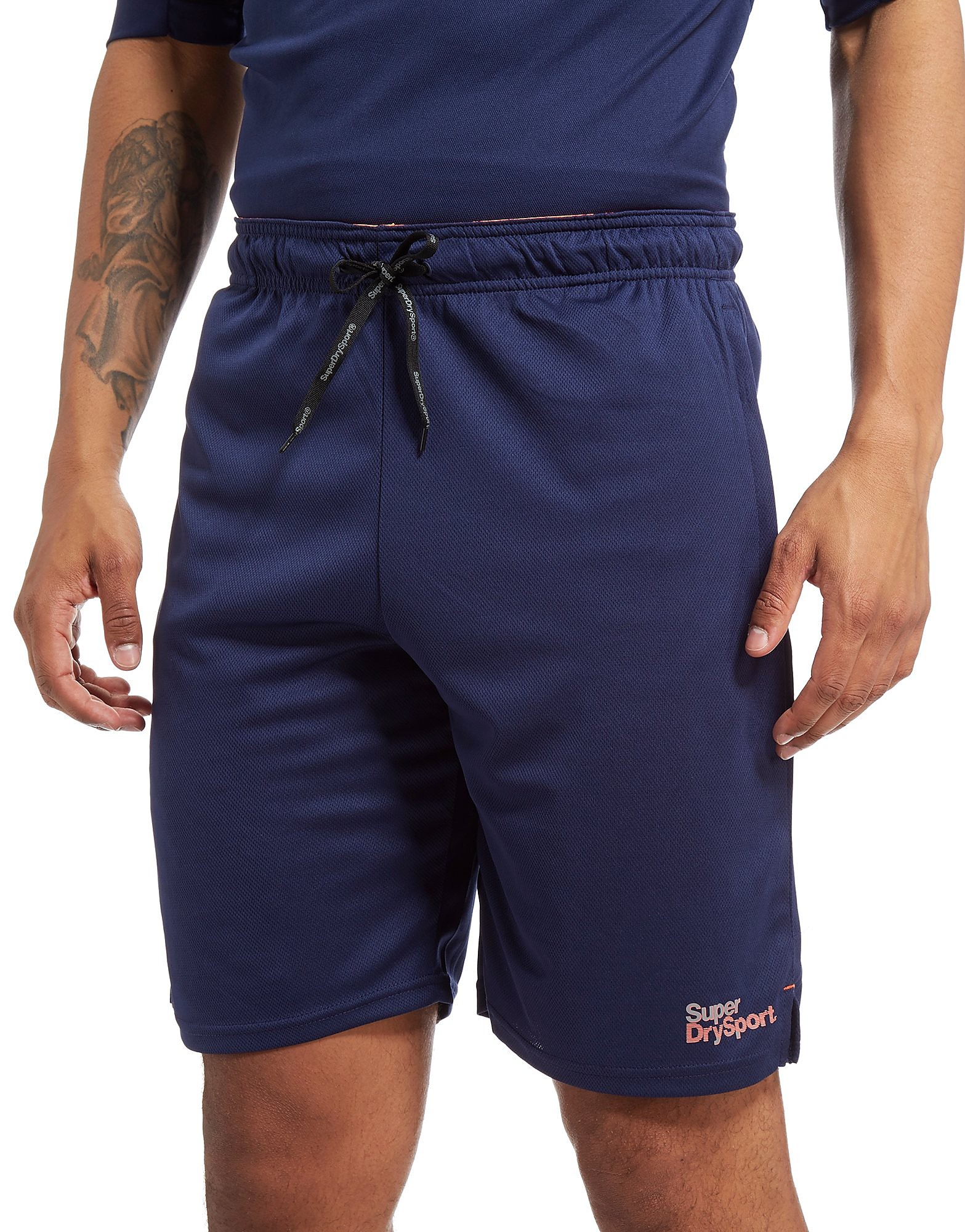 Superdry Sport Core Train Tricot Shorts Heren