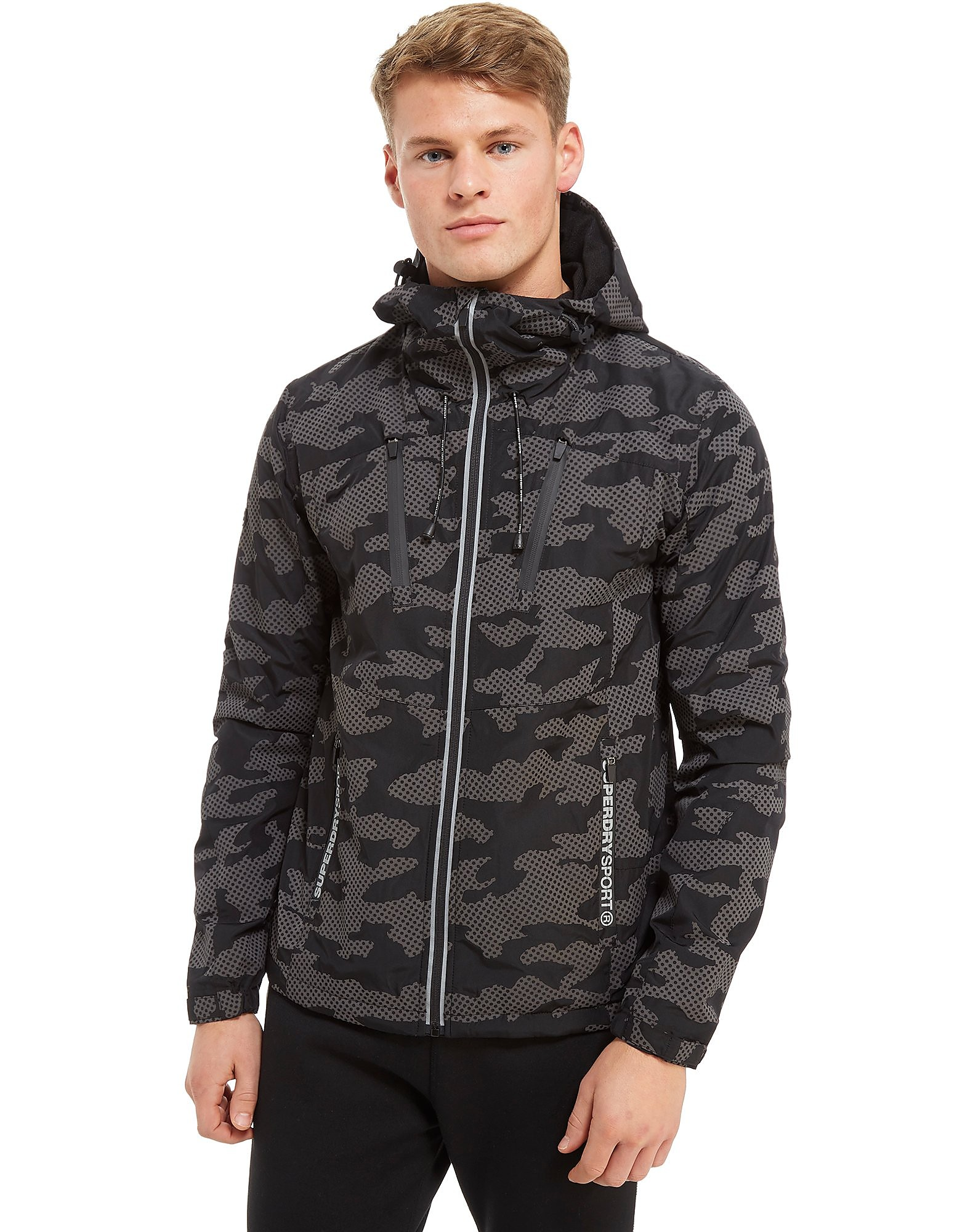 Superdry Sport Tech Cagoule Reflective Jacket